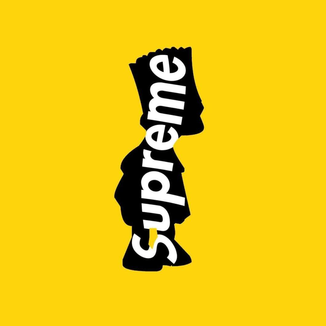 Supreme Bart Simpson Wallpapers Wallpaper Cave