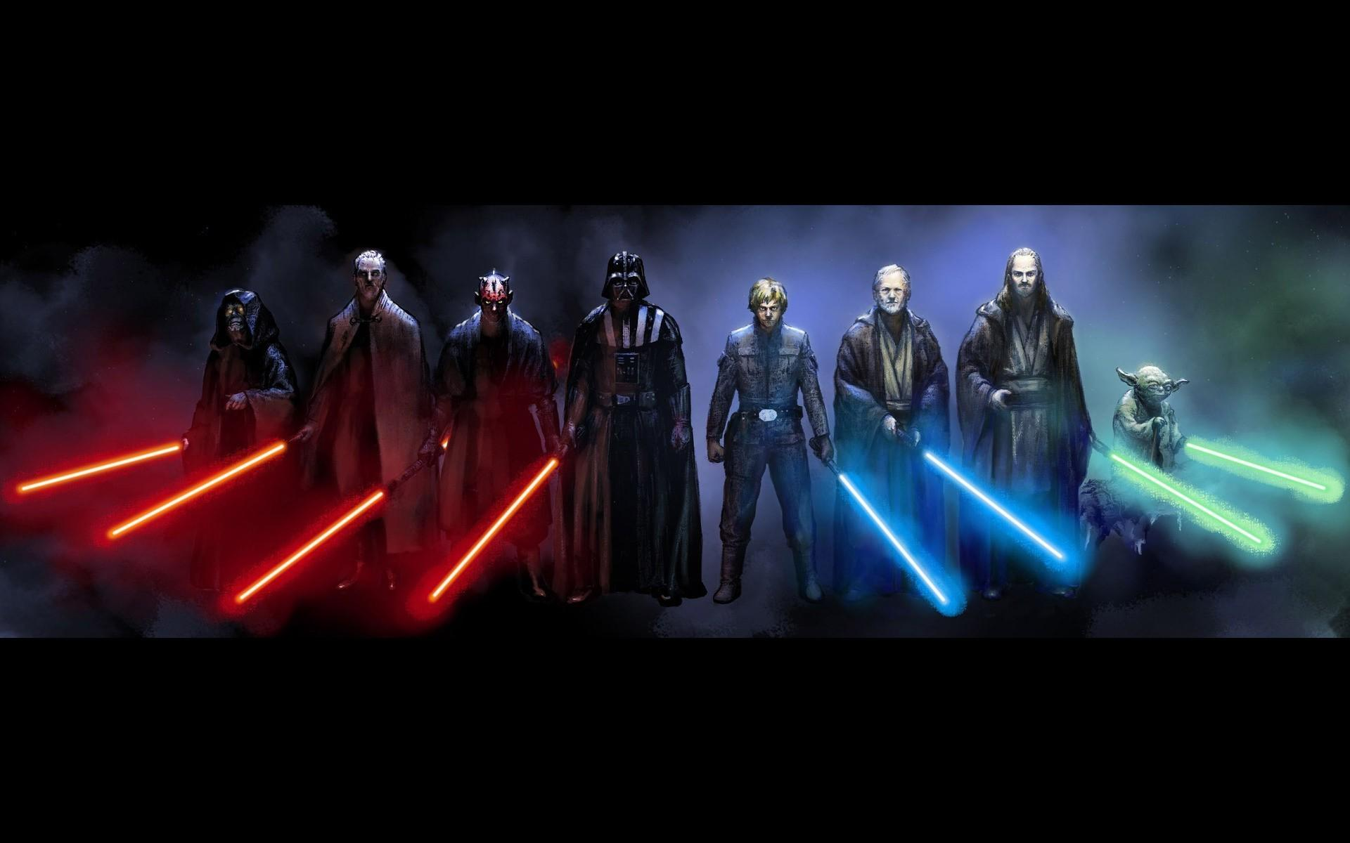 Darth Vader And Jedi Queen Wallpapers Wallpaper Cave