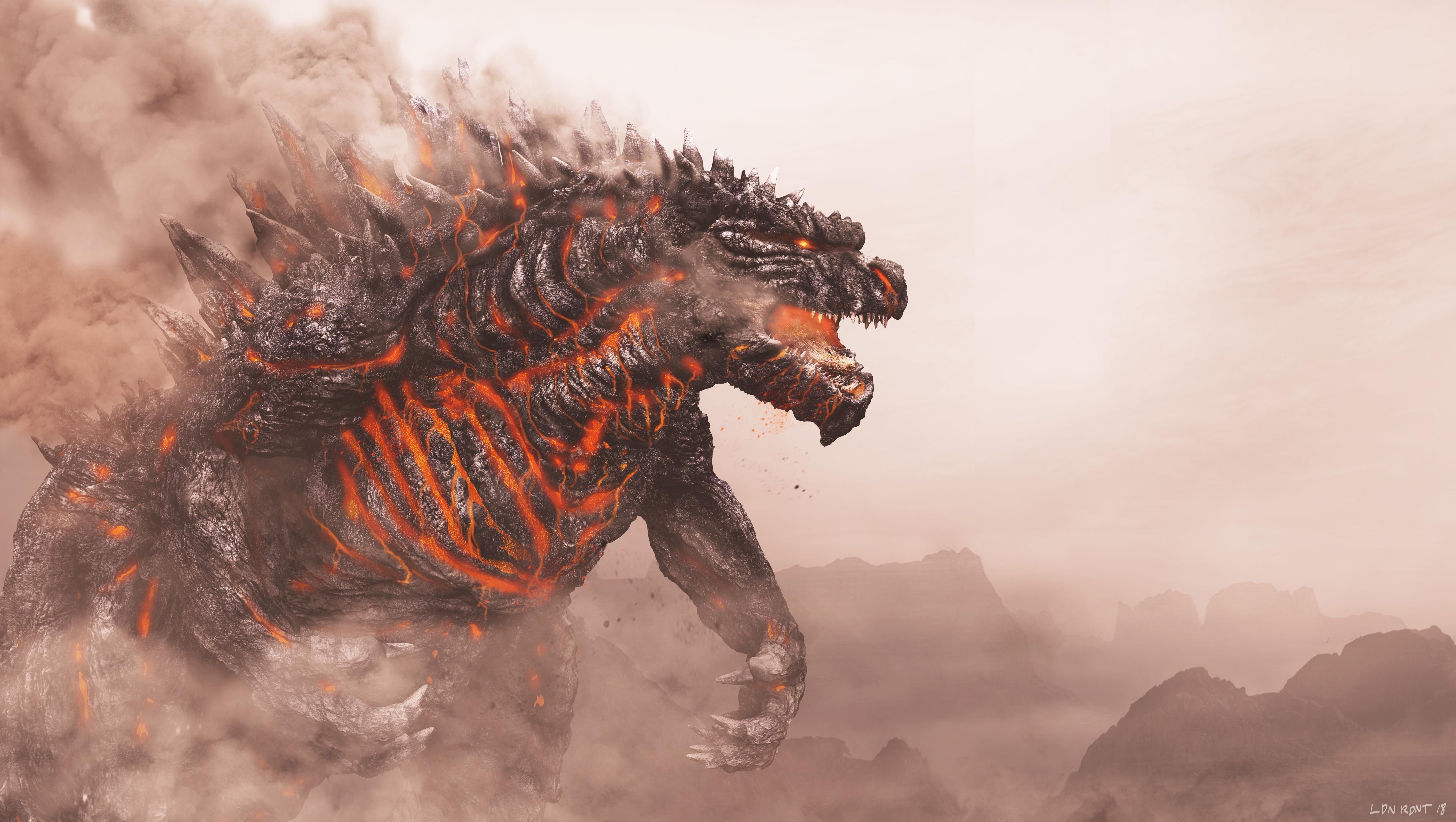 Shin Godzilla 4k Wallpapers - Wallpaper Cave
