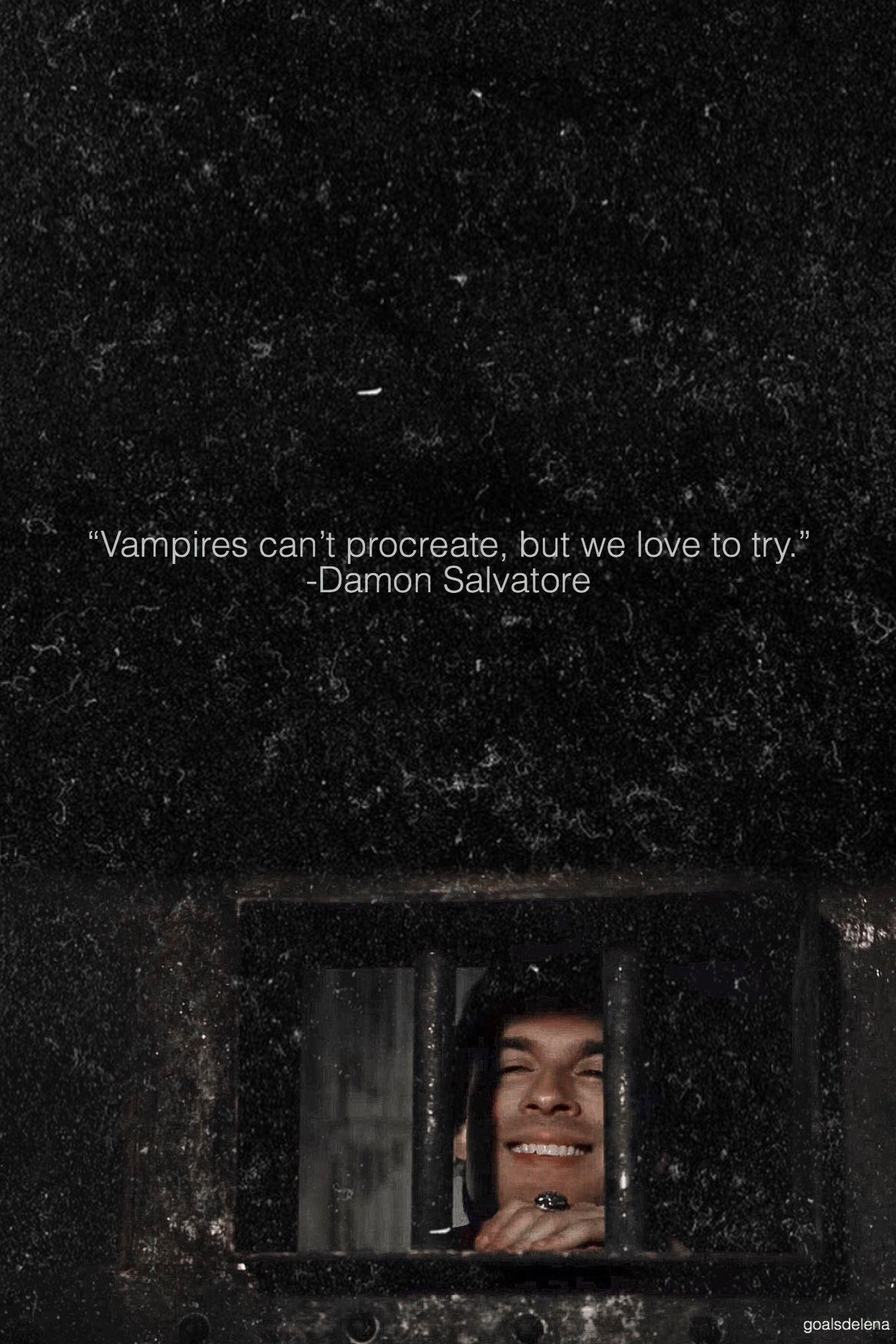 The Vampire Diaries Quotes Wallpapers - Wallpaper Cave