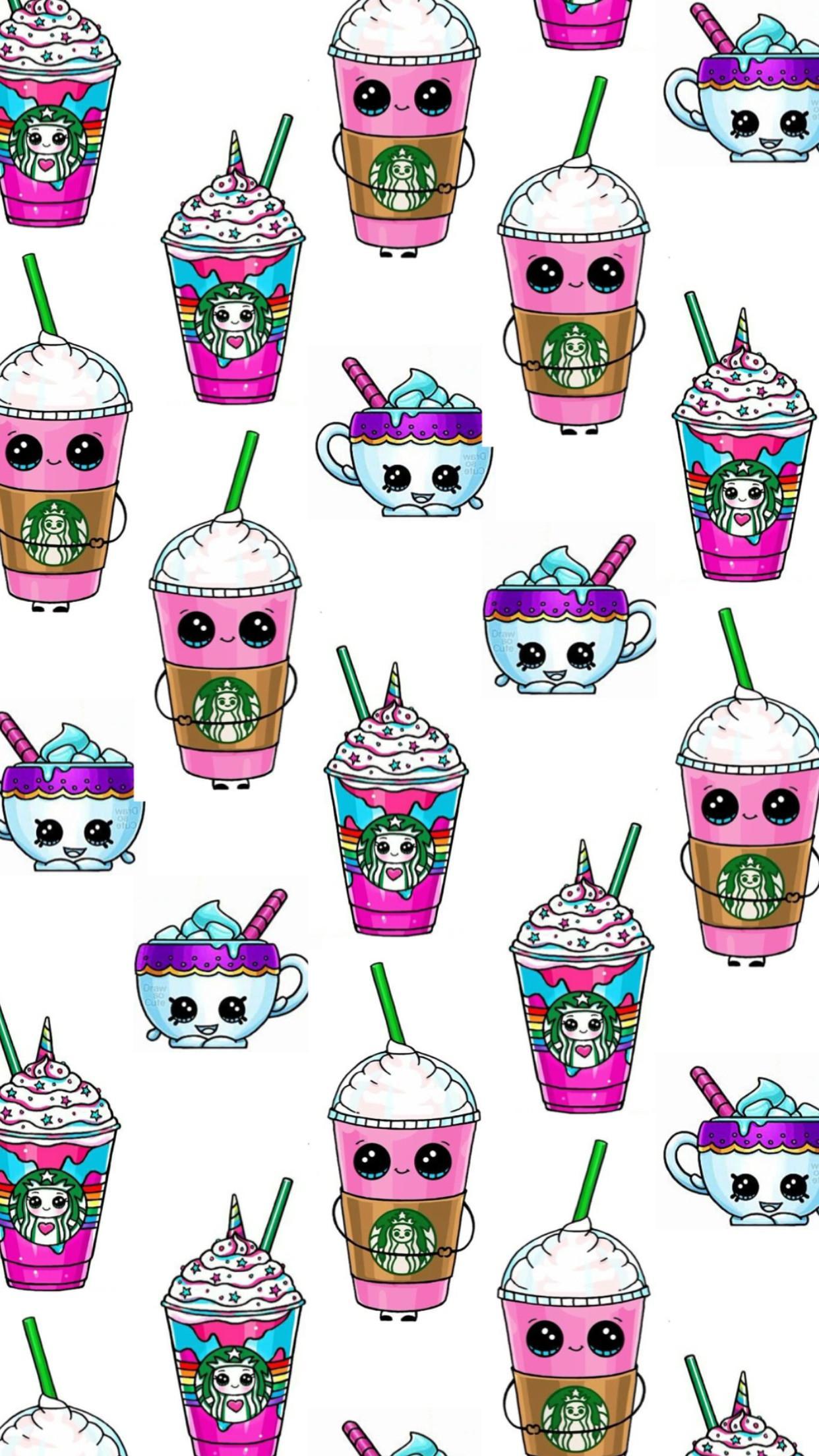 Starbucks Unicorn Wallpapers Wallpaper Cave