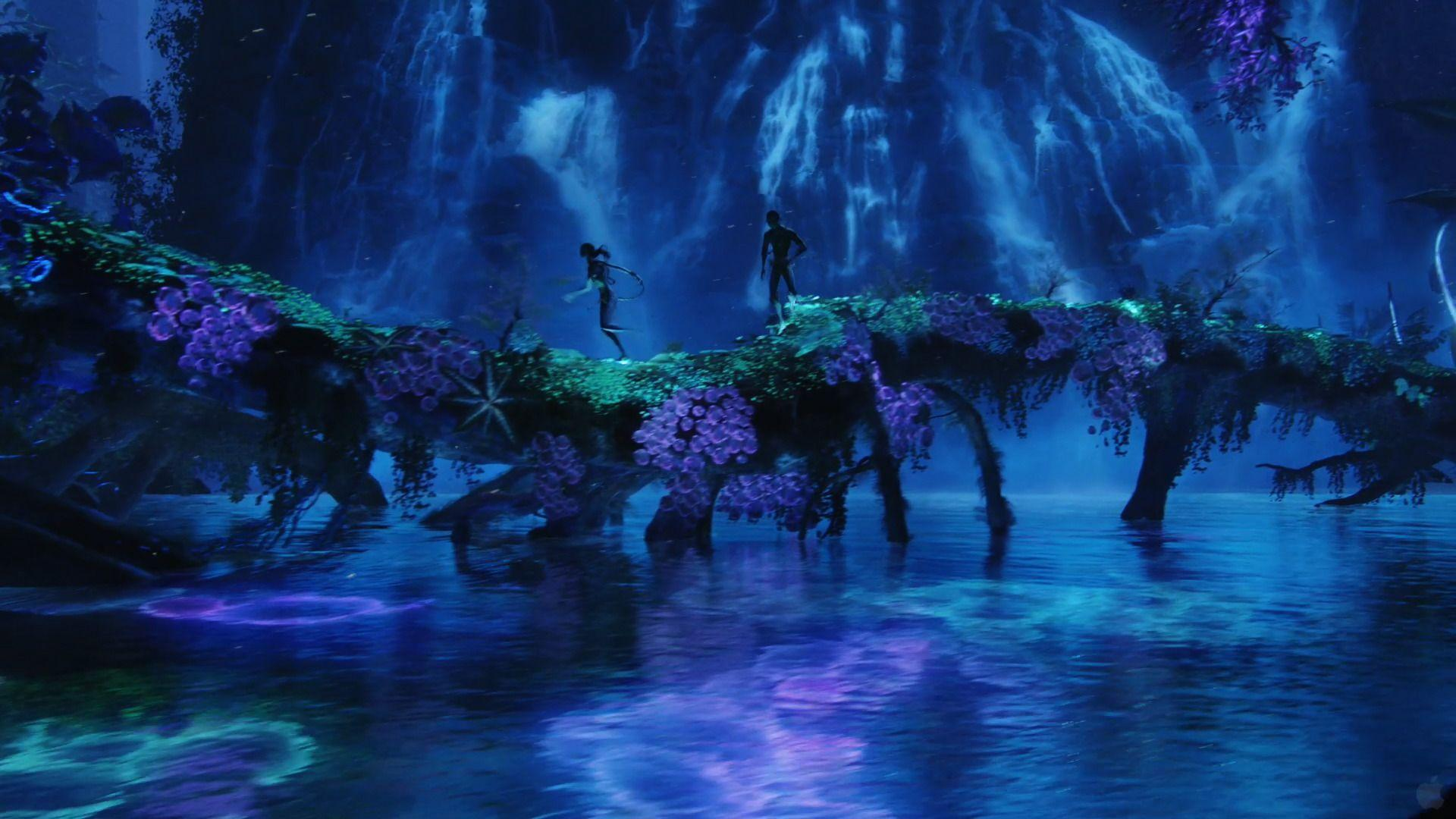 Blue Lagoon from Avatar Desktop Wallpapers