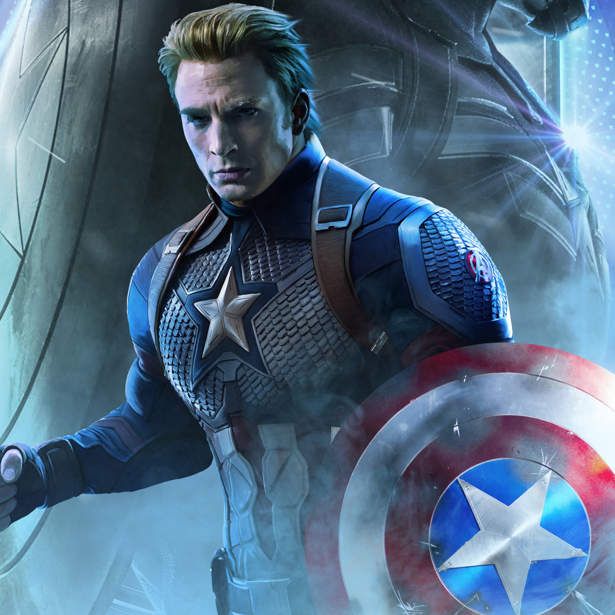 Endgame Captain America Wallpapers Wallpaper Cave