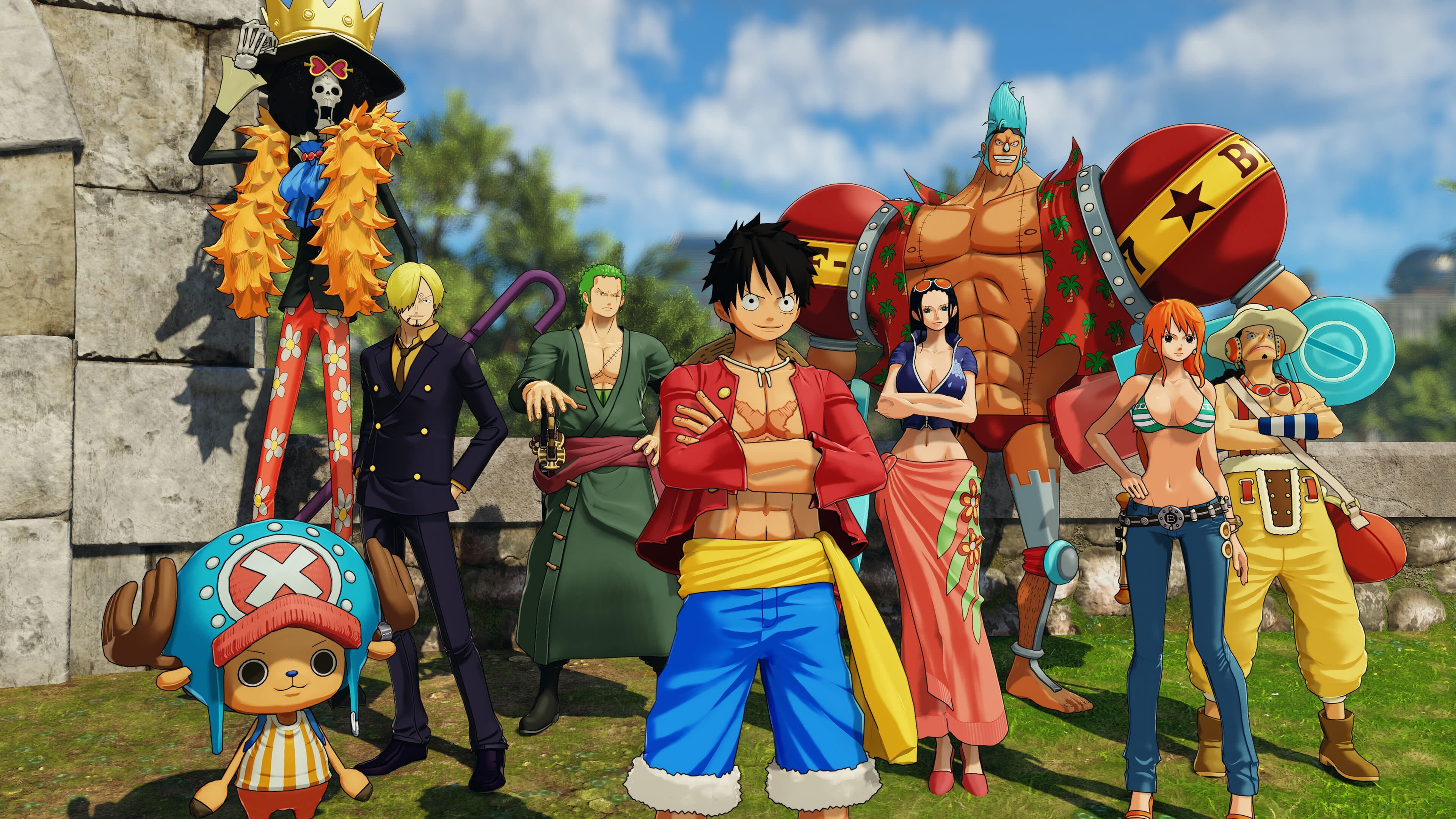 One Piece Stampede Wallpapers Wallpaper Cave