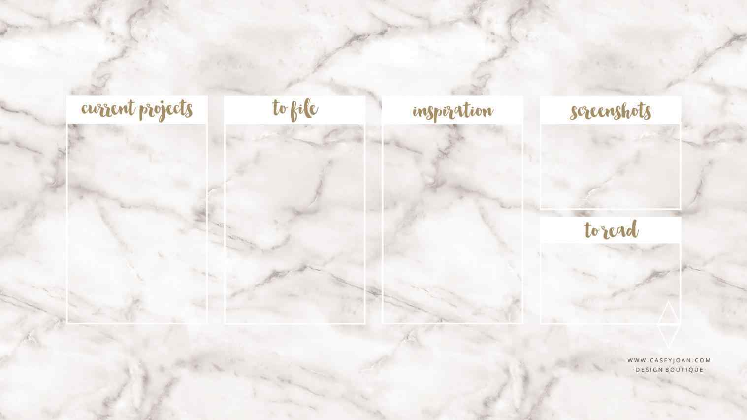 Galaxy Rose Gold Marble Aesthetic Wallpaper