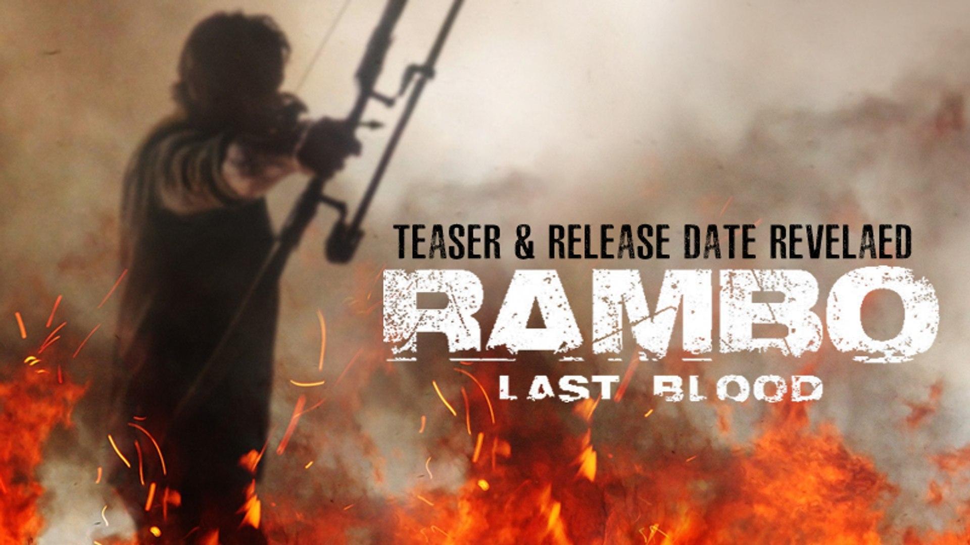 Rambo Last Blood Wallpapers Wallpaper Cave