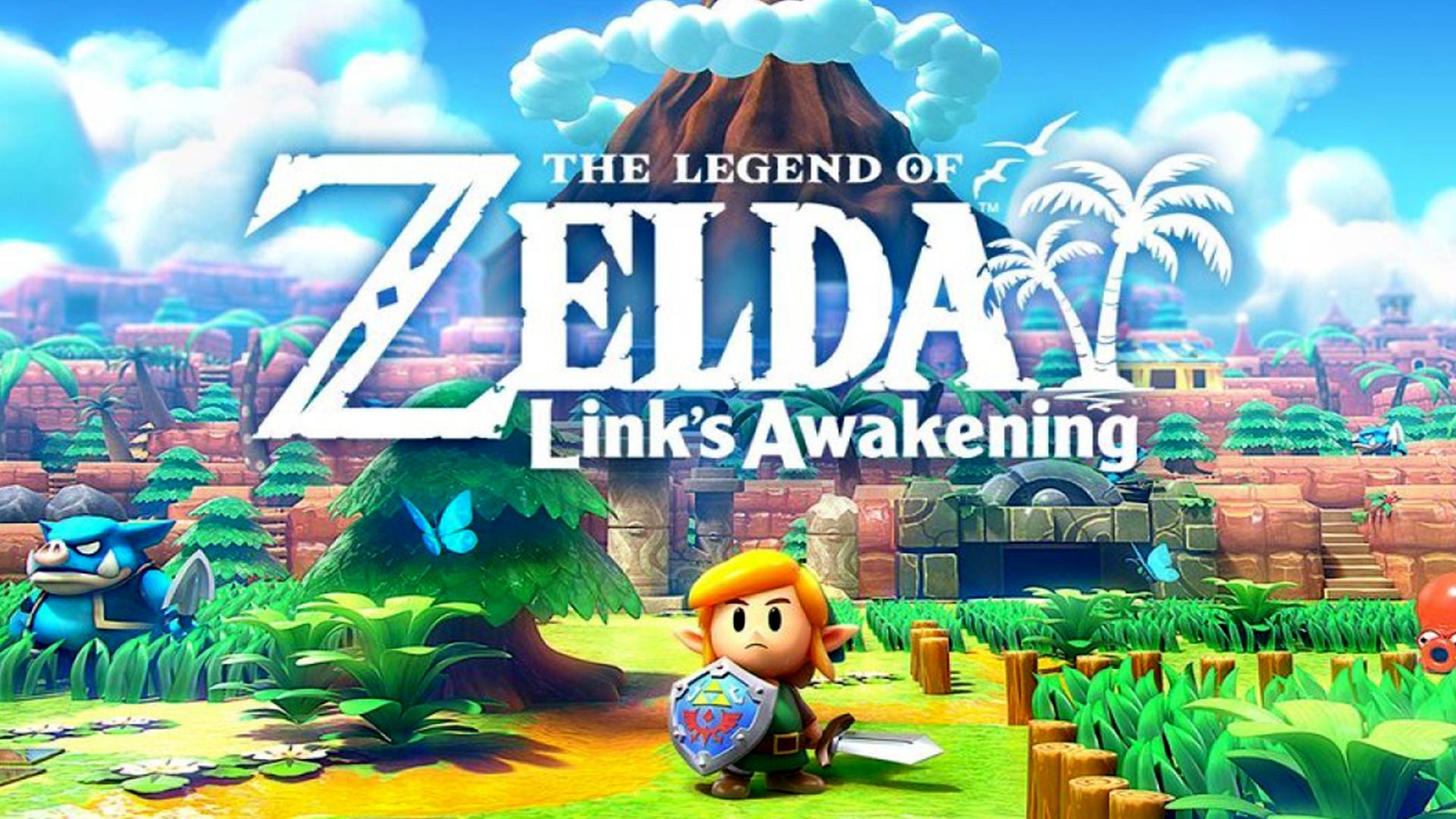 The Legend Of Zelda Link S Awakening Wallpapers Wallpaper