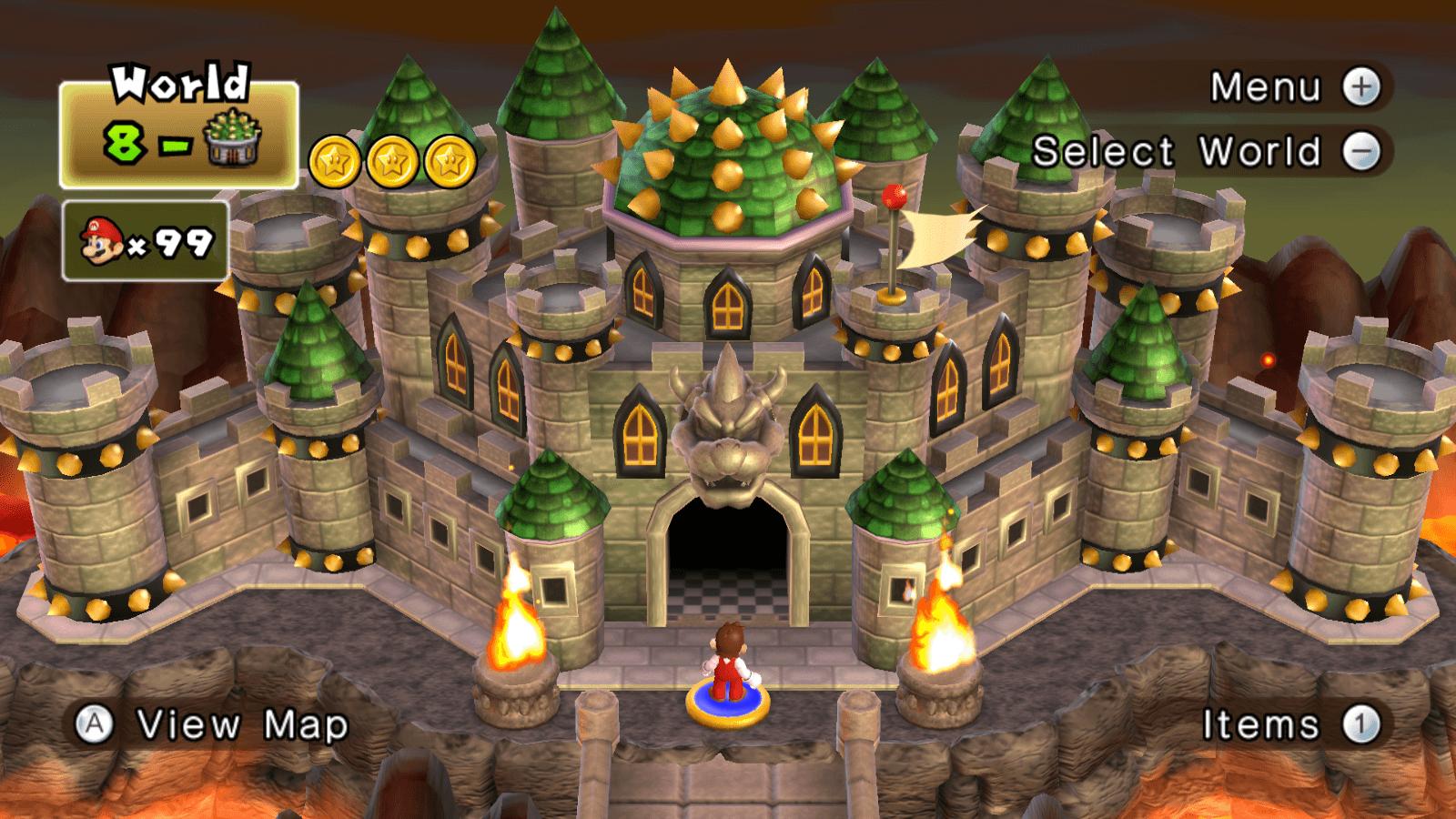 Bowser S Castle Super Mario Wallpapers Wallpaper Cave