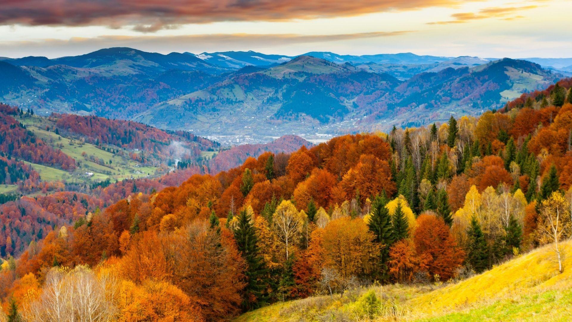 Mountain Landscape Autumn Wallpapers Wallpaper Cave