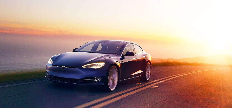 Tesla Blue Color Tesla Power 2020