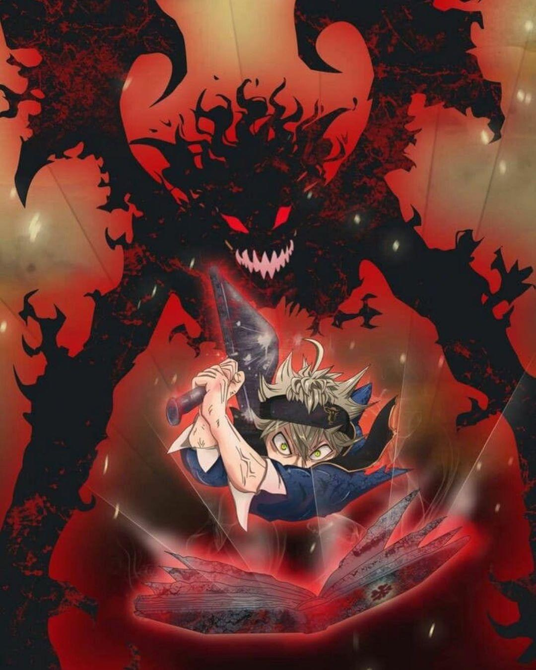 asta demon form wallpapers cave