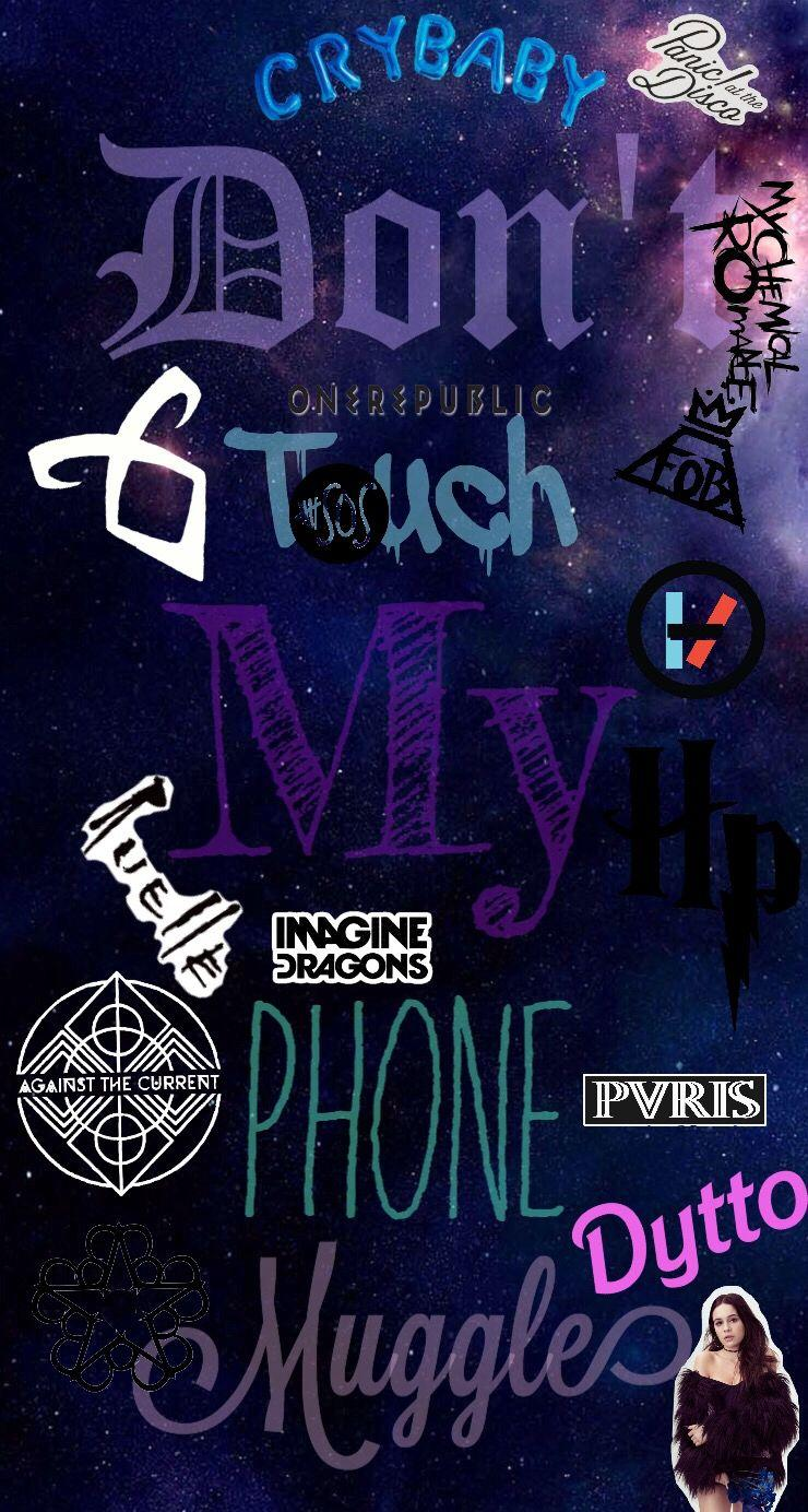 Don't Touch My Phone Muggle Wallpapers - Wallpaper Cave