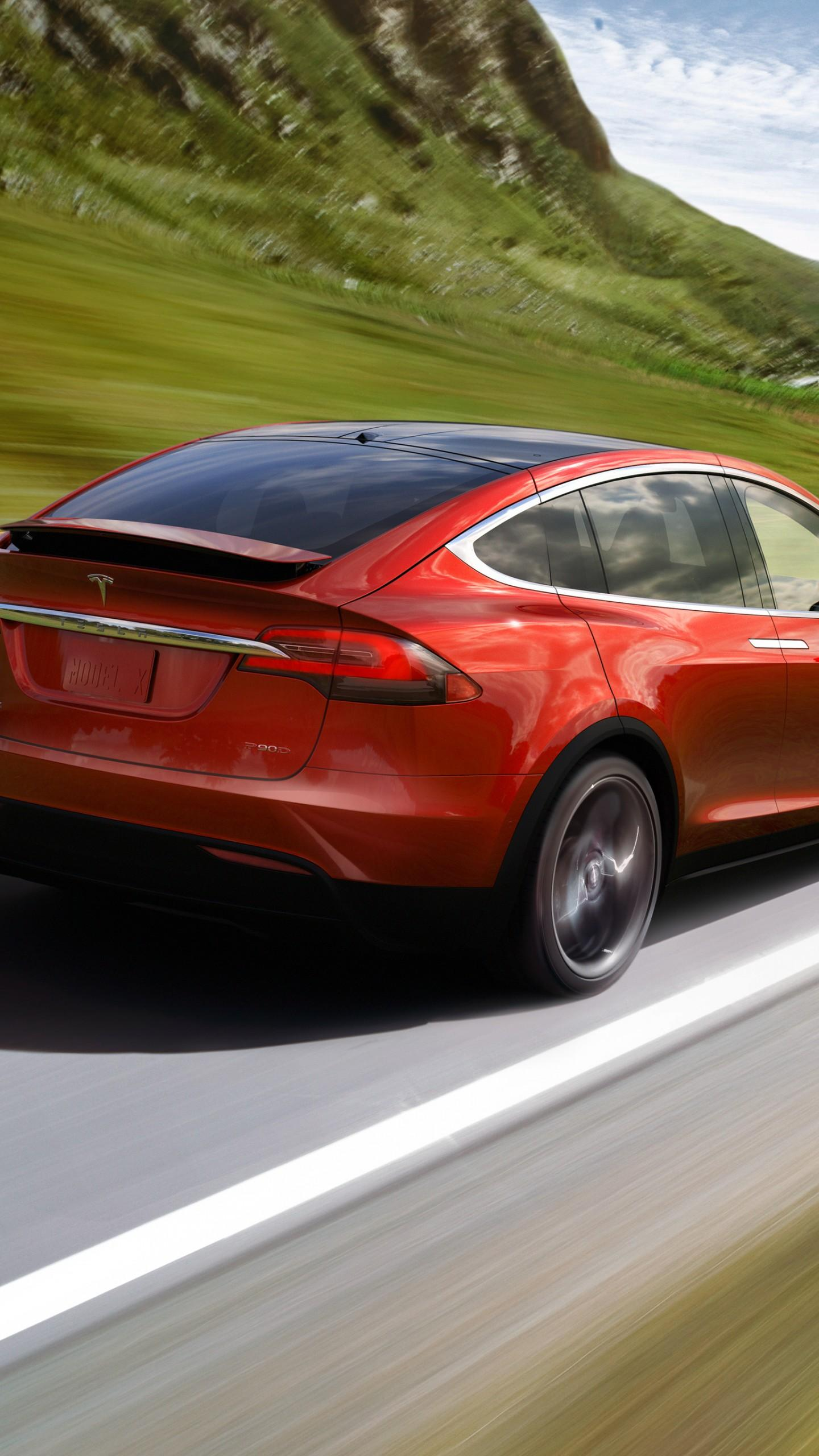 Wallpapers Tesla Model X P90D, electric cars, suv, 2016, Cars