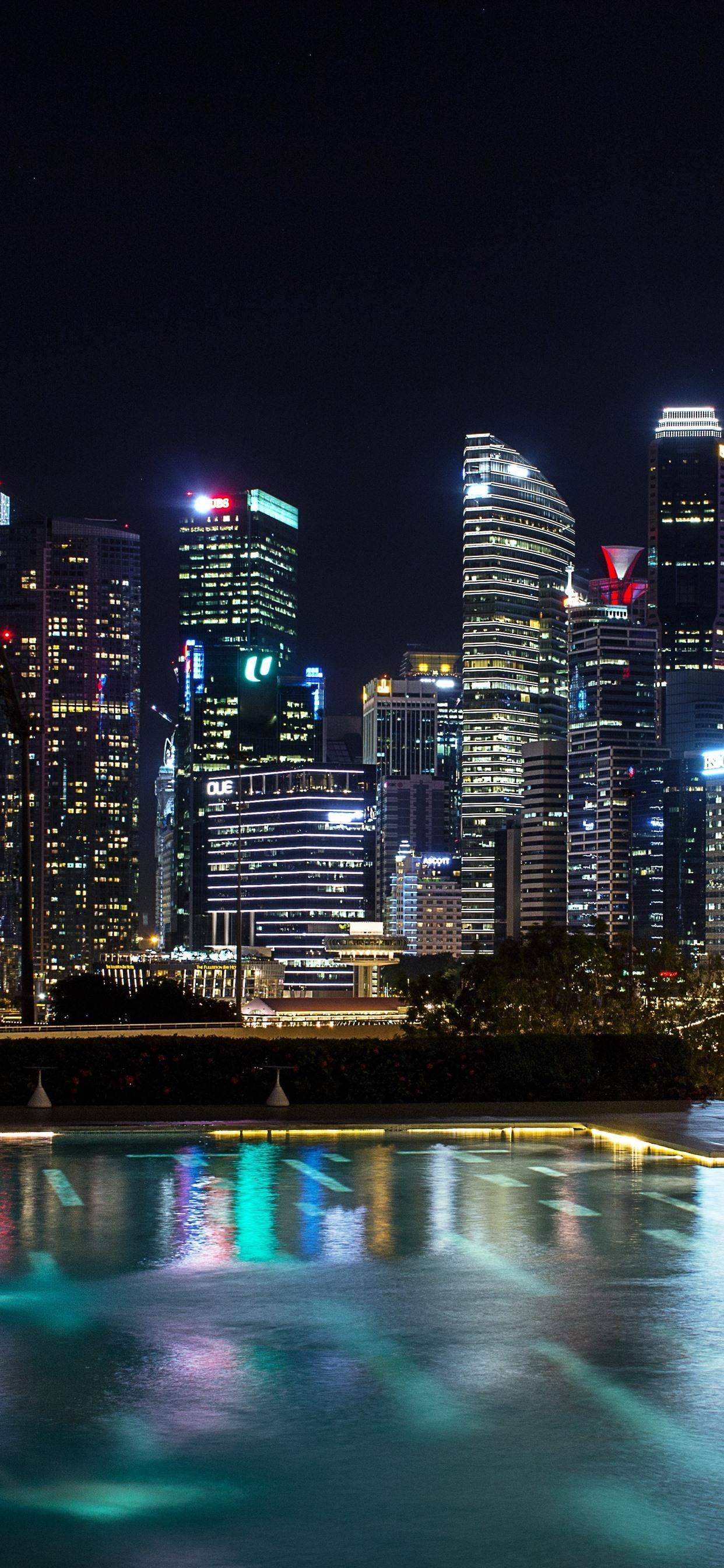 Singapore Skyscrapers Wallpapers Wallpaper Cave