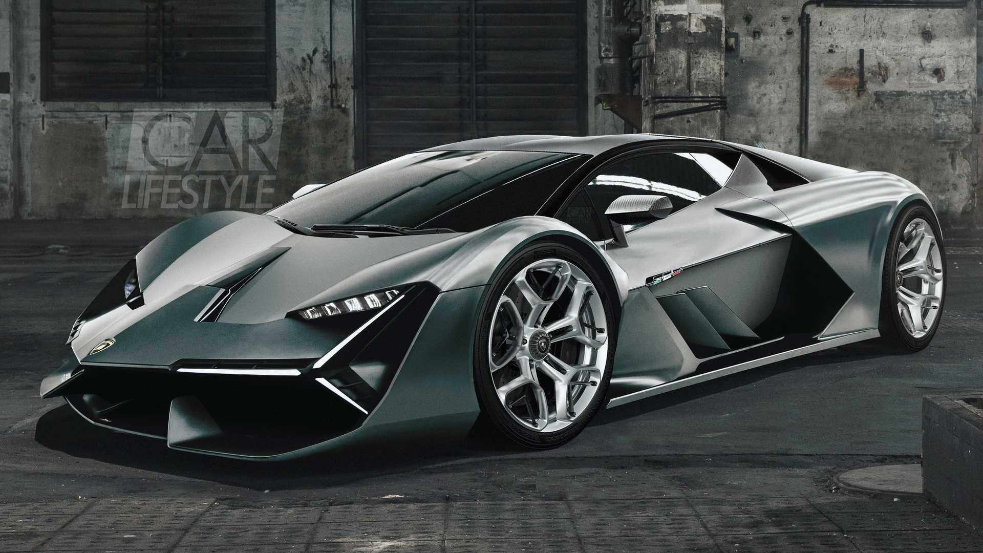 Electric Lamborghini Hypercar Wallpapers , Wallpaper Cave
