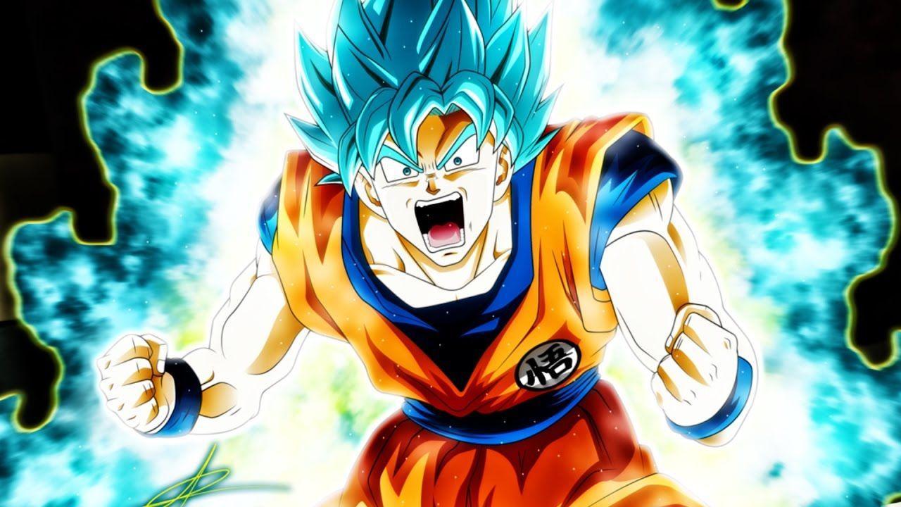 1080p Goku Blue Wallpaper