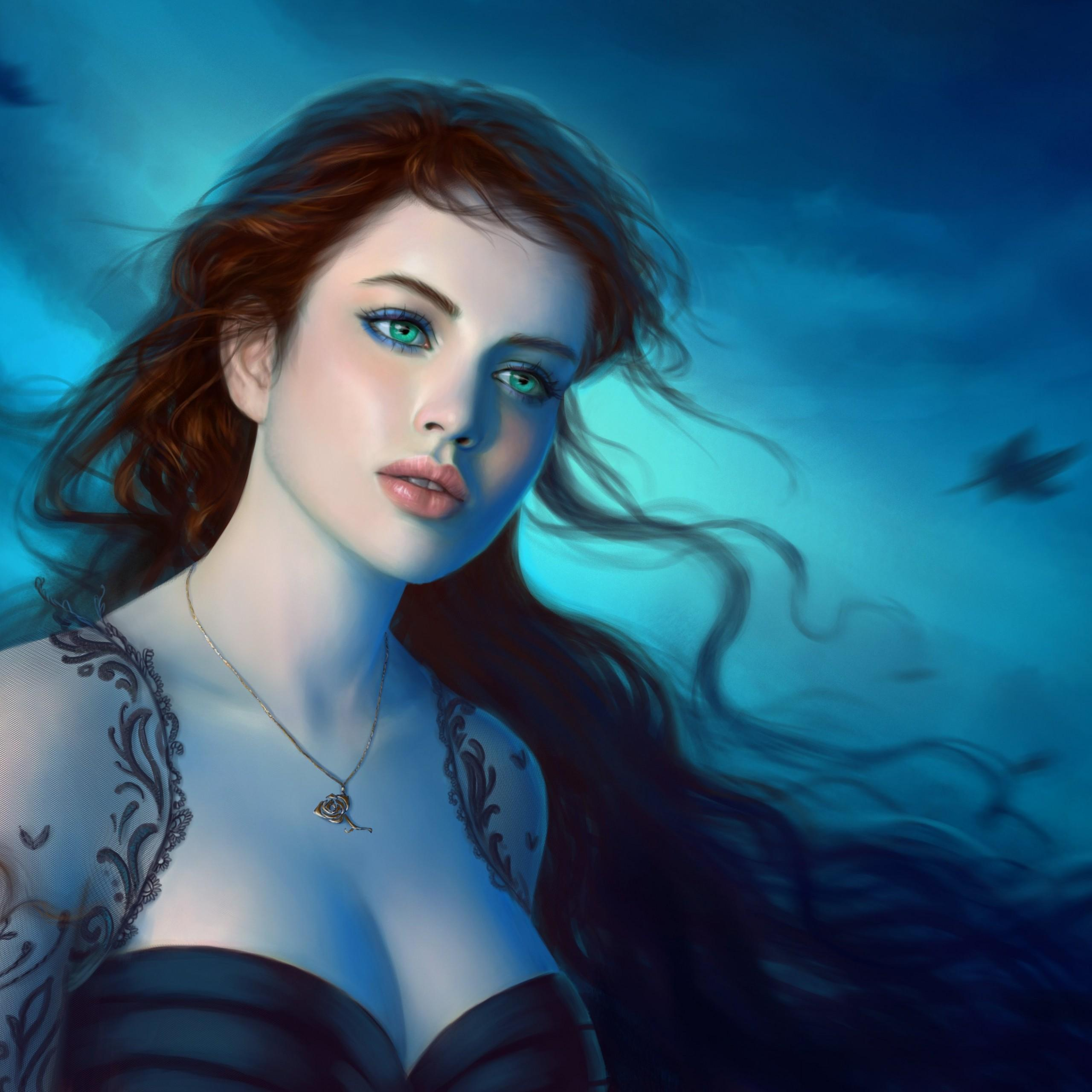 Gorgeous Fantasy Girl Wallpapers
