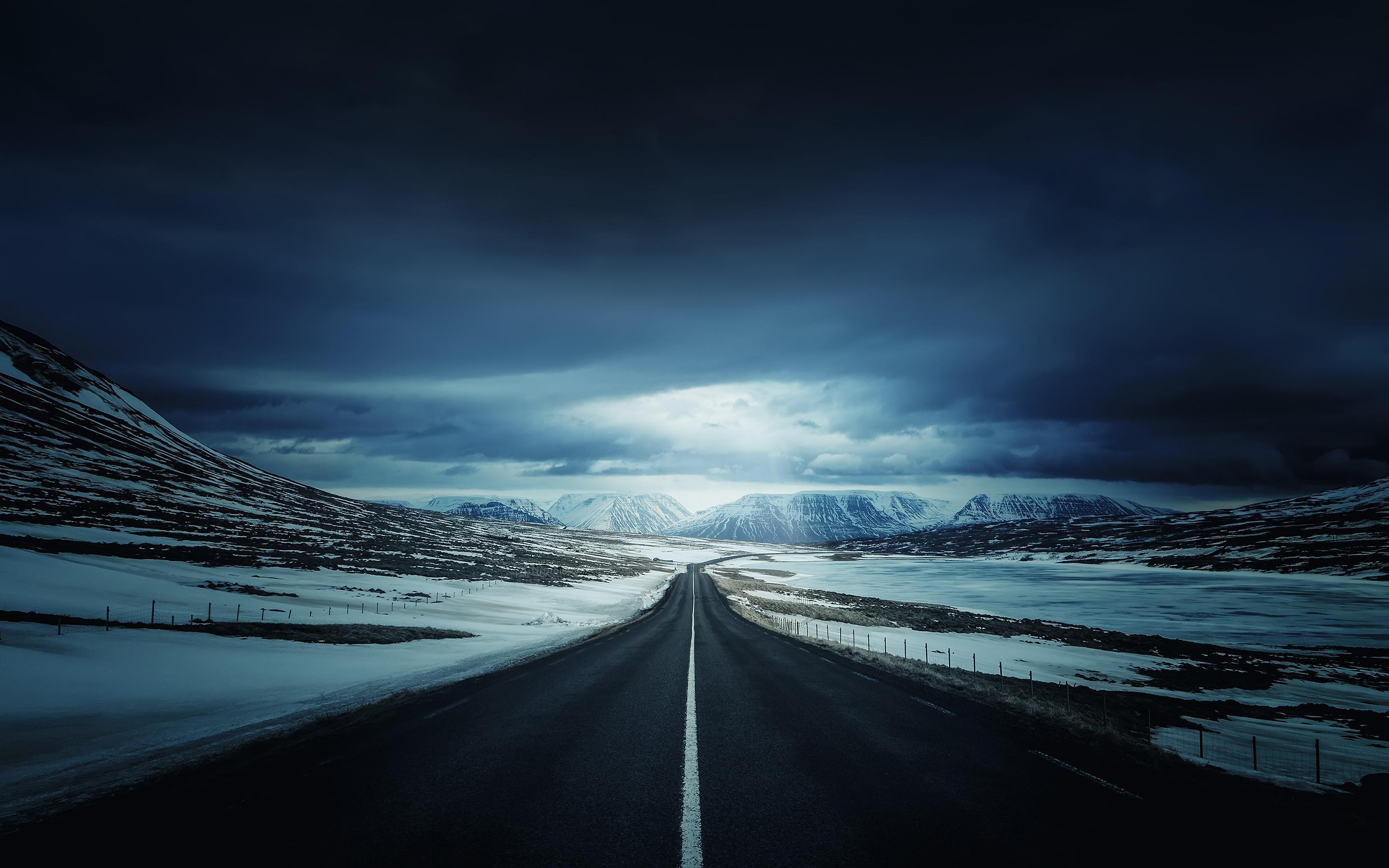 Iceland Road Wallpapers Wallpaper Cave