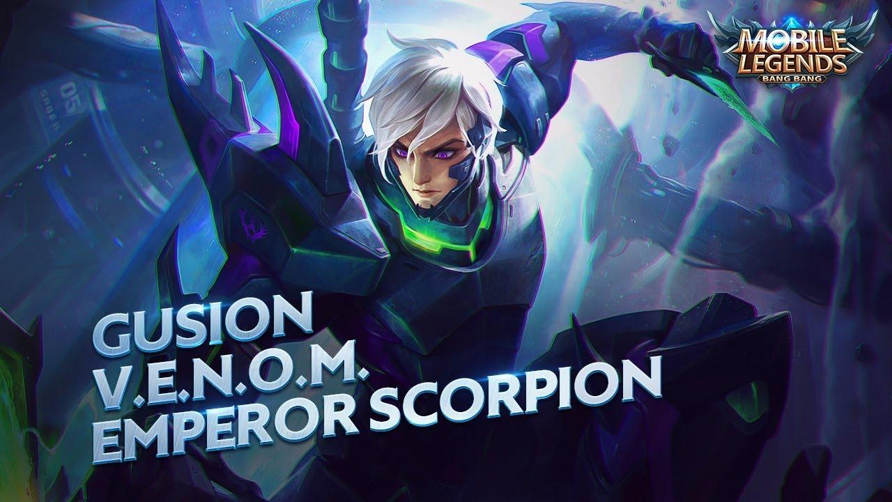 Gusion V E N O M Emperor Scorpion Wallpapers Wallpaper Cave