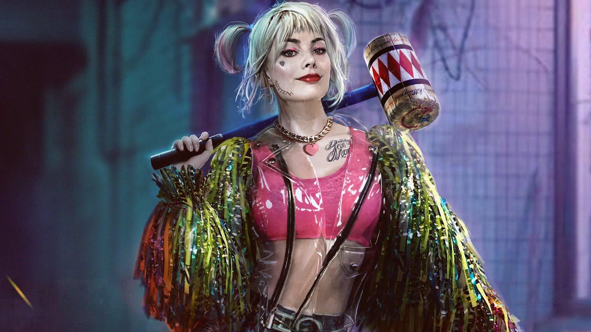 Harley Quinn Birds Of Prey Wallpapers Wallpaper Cave
