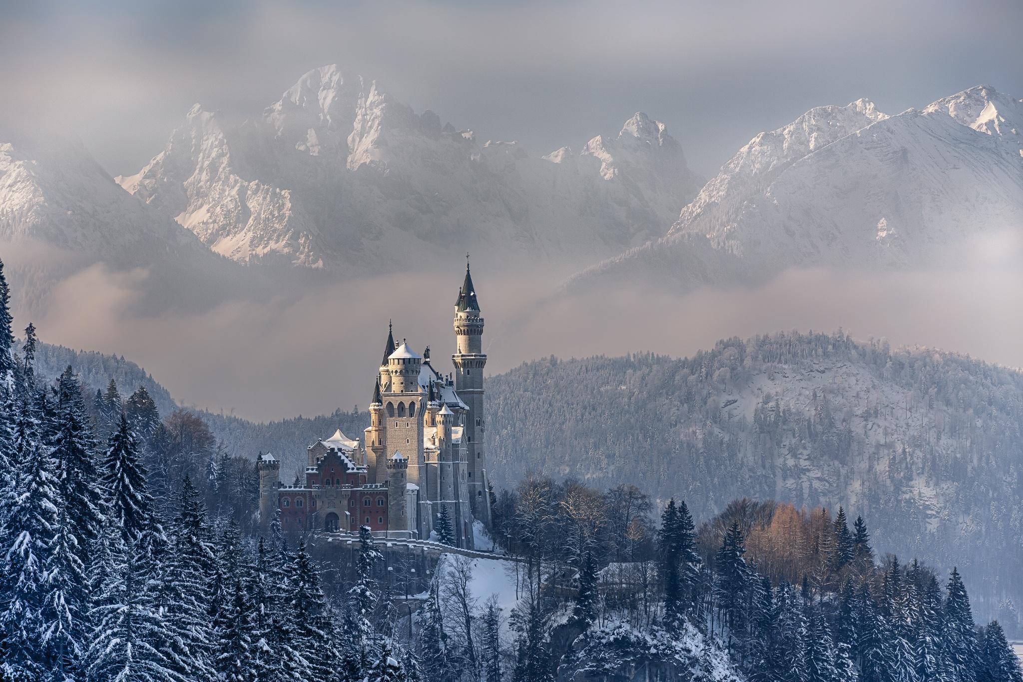 Castles Winter Wallpapers - Wallpaper Cave