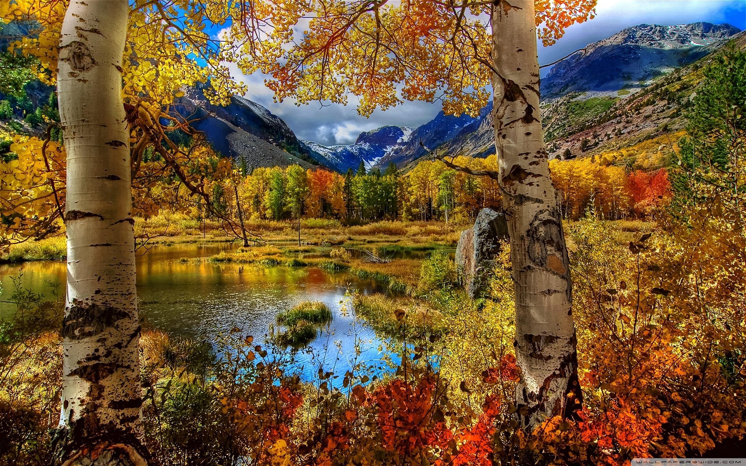 Mountain Autumn Wallpapers Wallpaper Cave