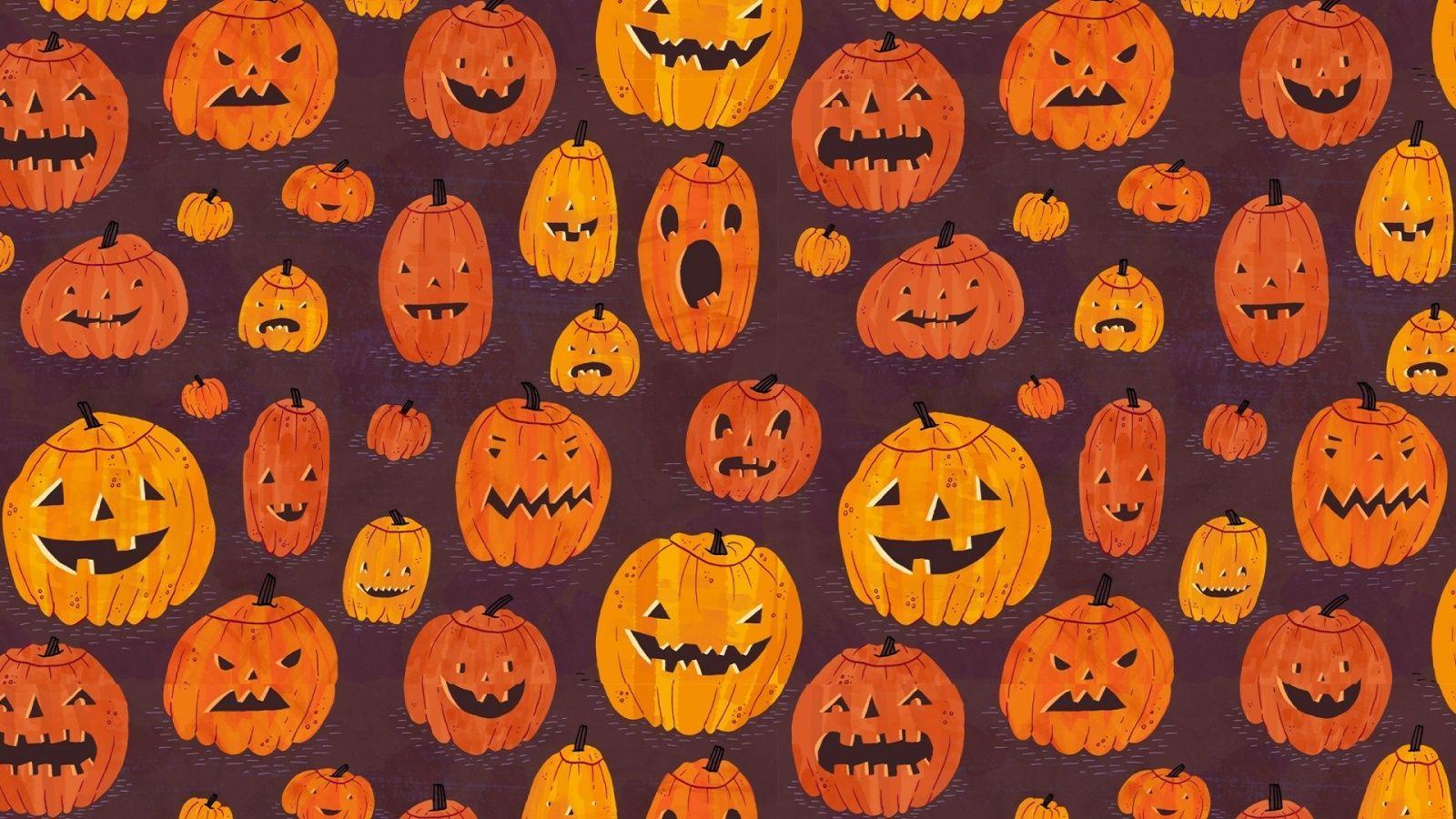 Halloween Desktop Aesthetic Wallpapers Wallpaper Cave