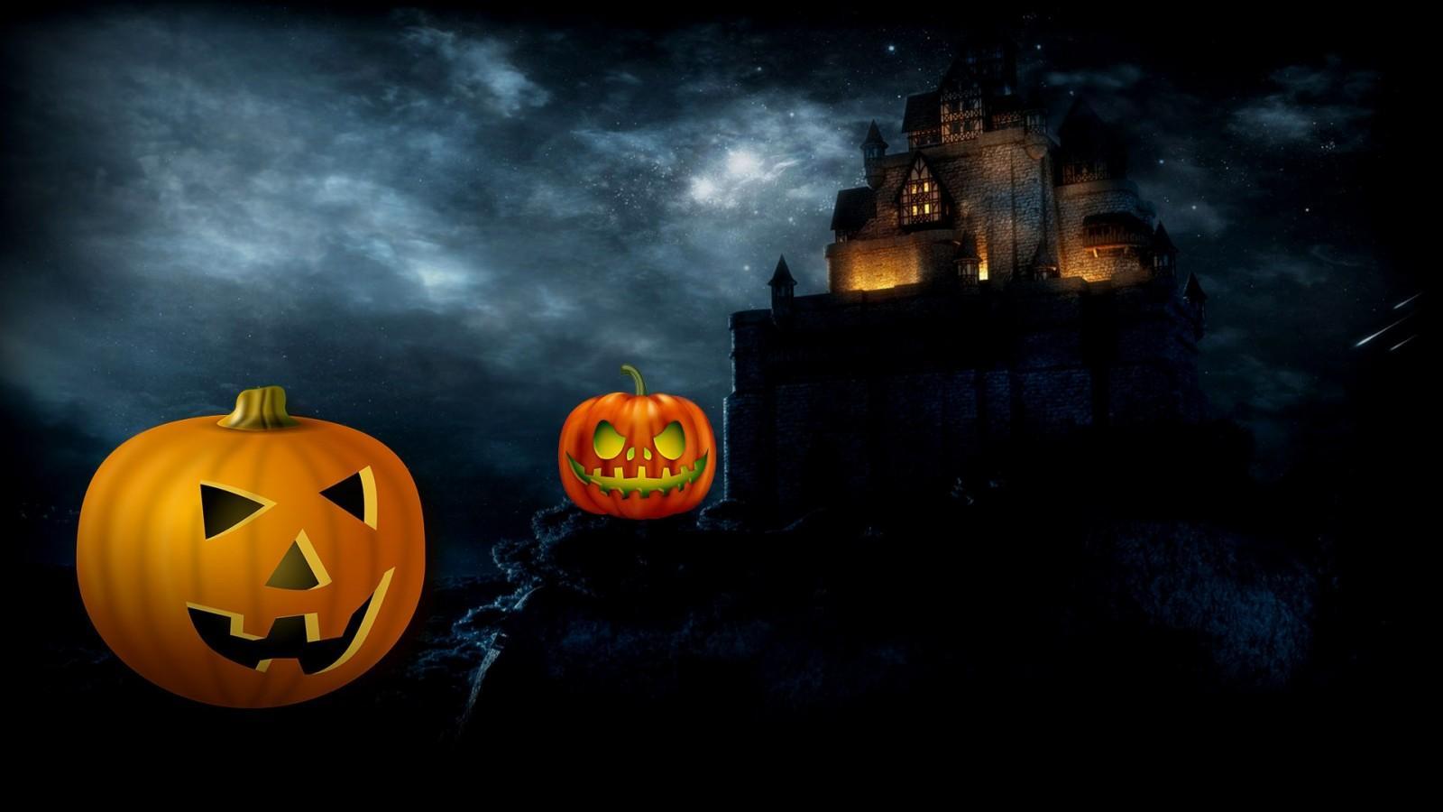 1600x900 halloween wallpapers
