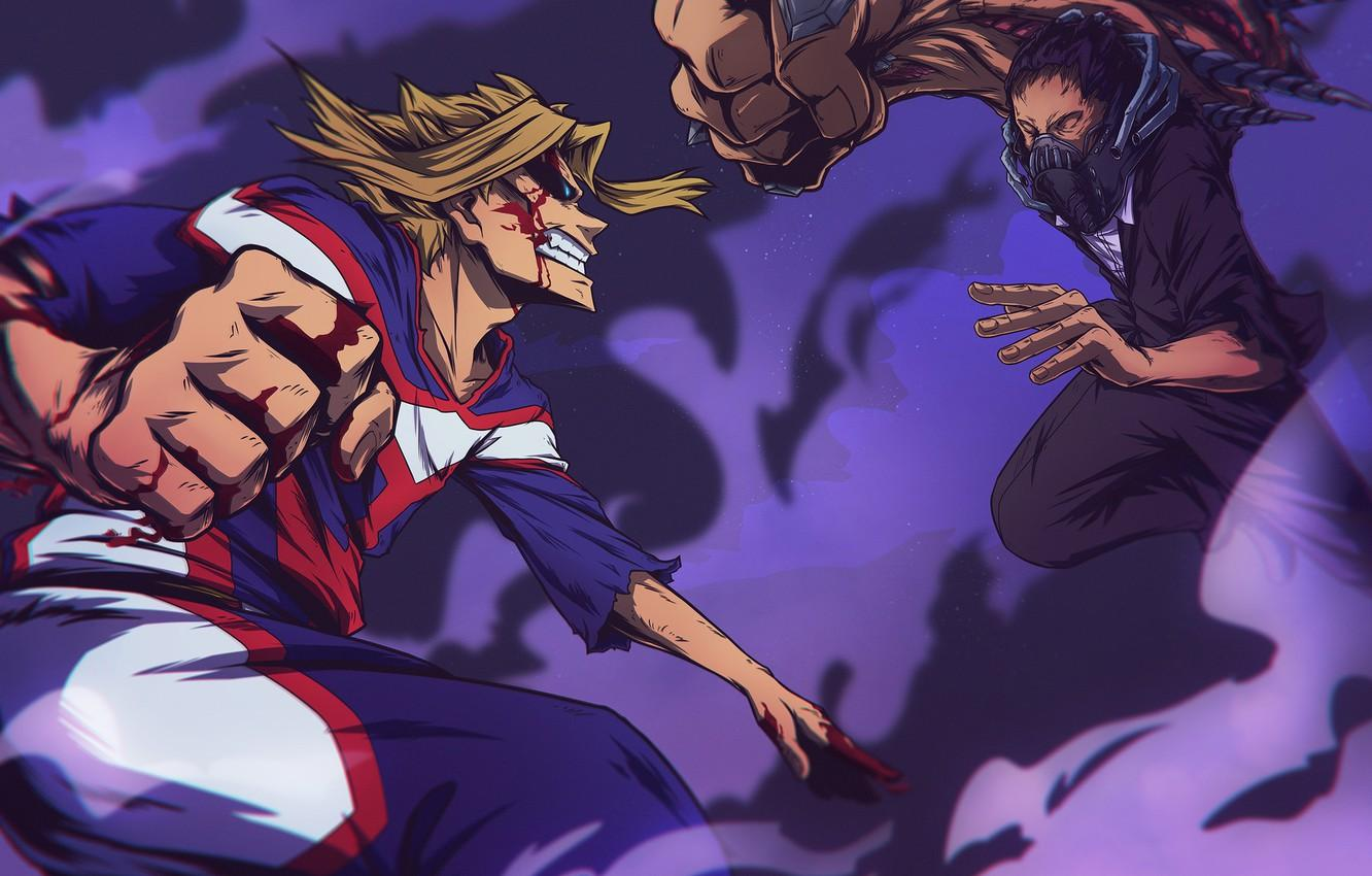 Wallpapers My Hero Academia, Toshinori Of Yak, All Might, Boku No Hero Academy, My Hero Academy, All For One image for desktop, section сёнэн