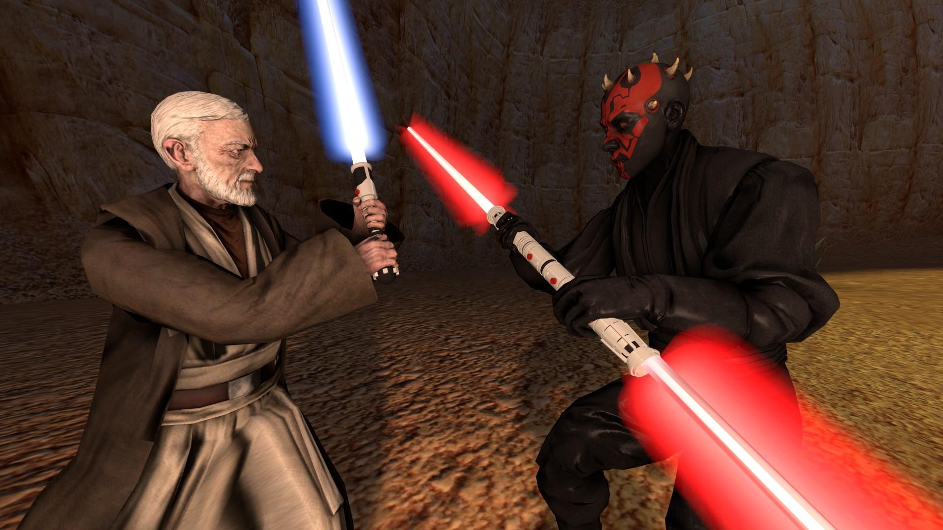 Anakin Skywalker And Obi Wan Kenobi Wallpapers Wallpaper Cave