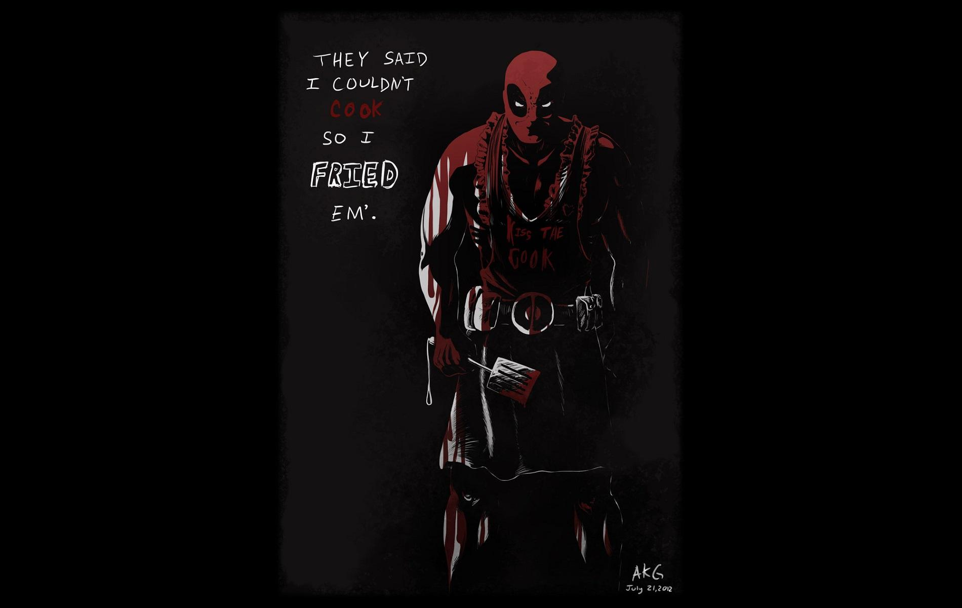 Deadpool Quotes Wallpapers - Wallpaper Cave