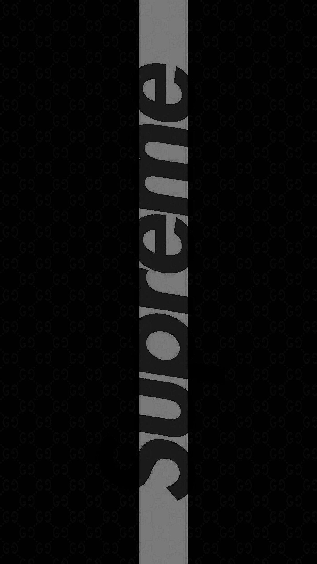 Supreme Black iPhone Wallpapers - Wallpaper Cave
