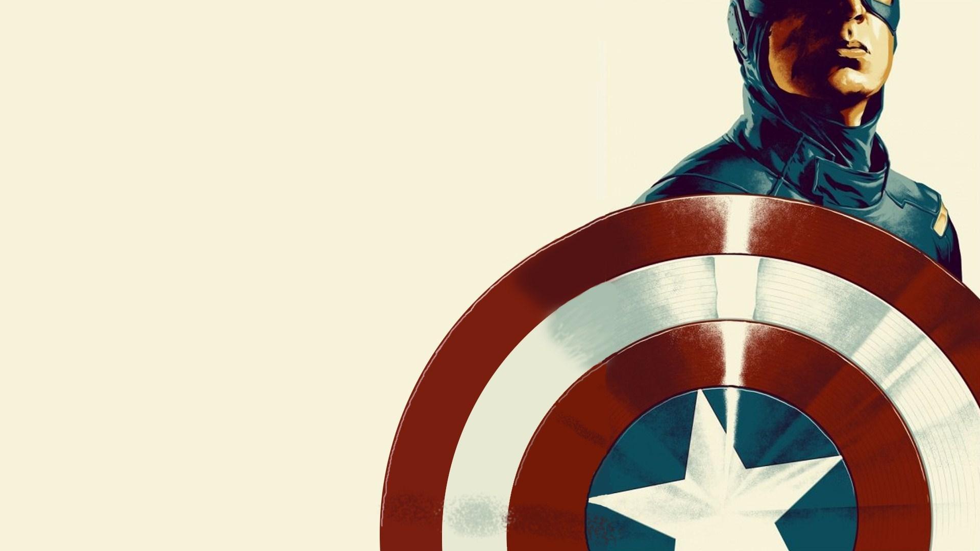 Captain America Computer Wallpapers Wallpaper Cave