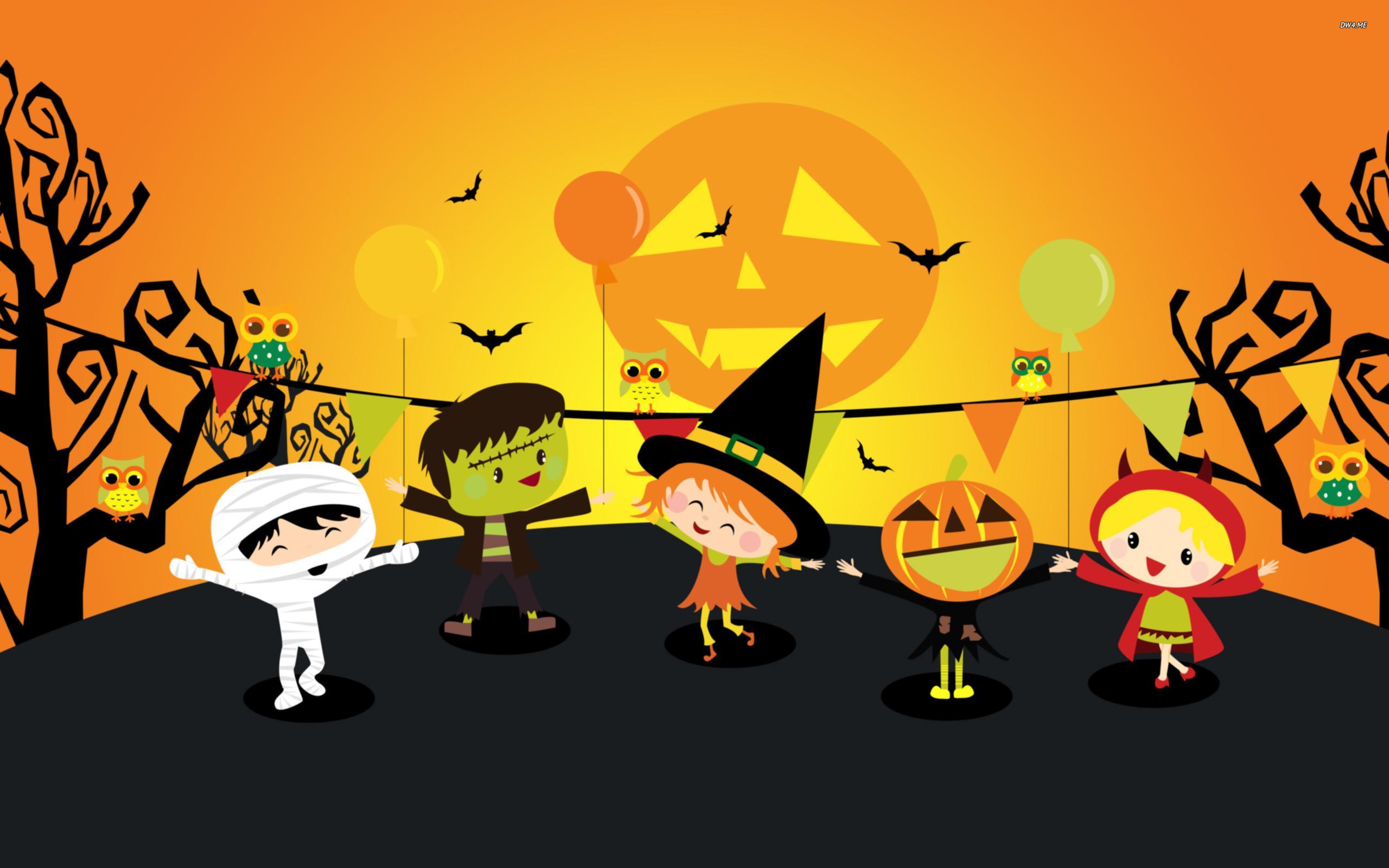 Kids Halloween Wallpapers - Wallpaper Cave