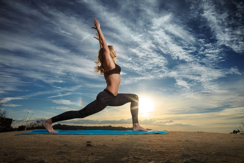 Yoga Women Wallpapers Wallpaper Cave