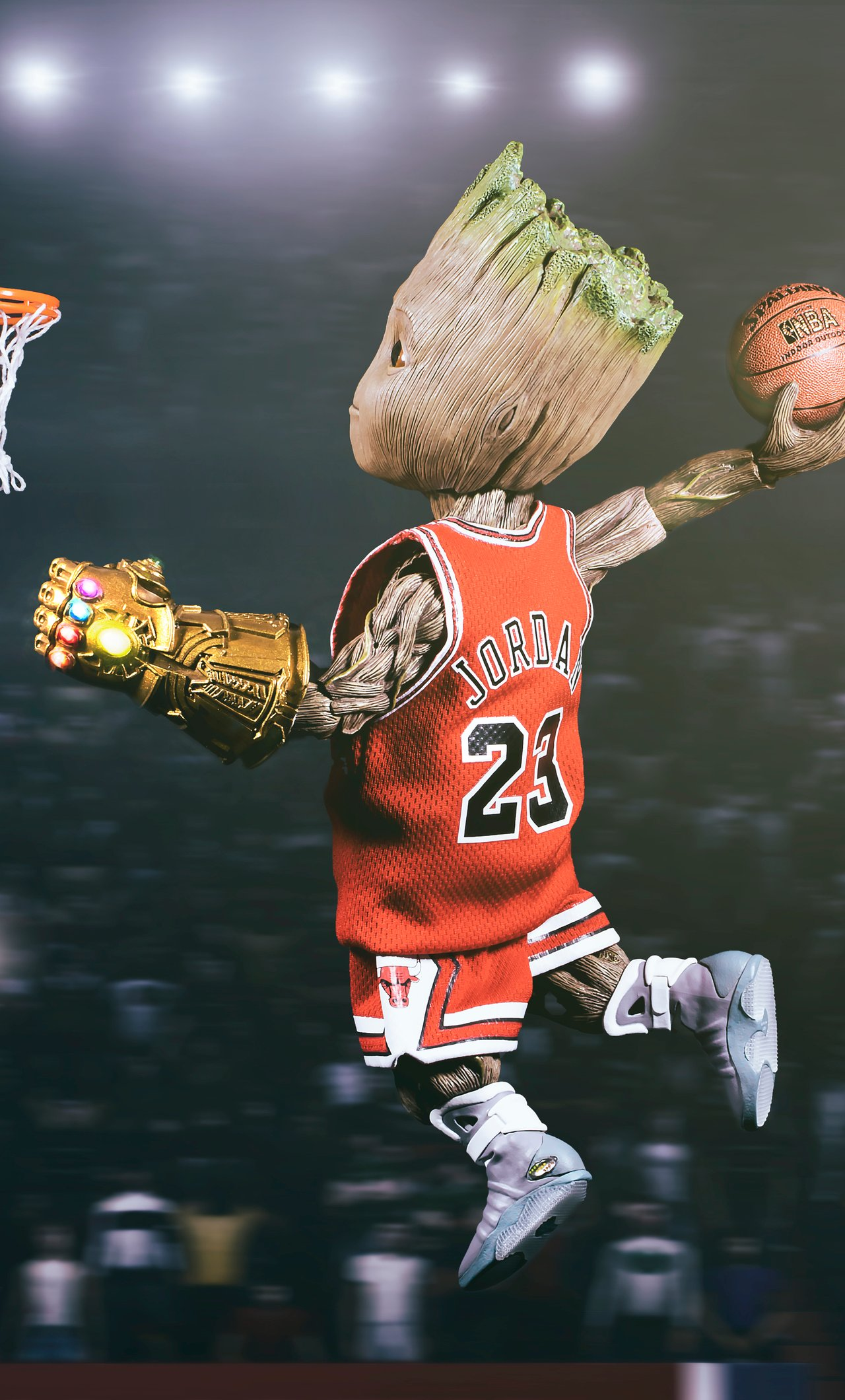 Cartoon Basketball Wallpapers Wallpaper Cave