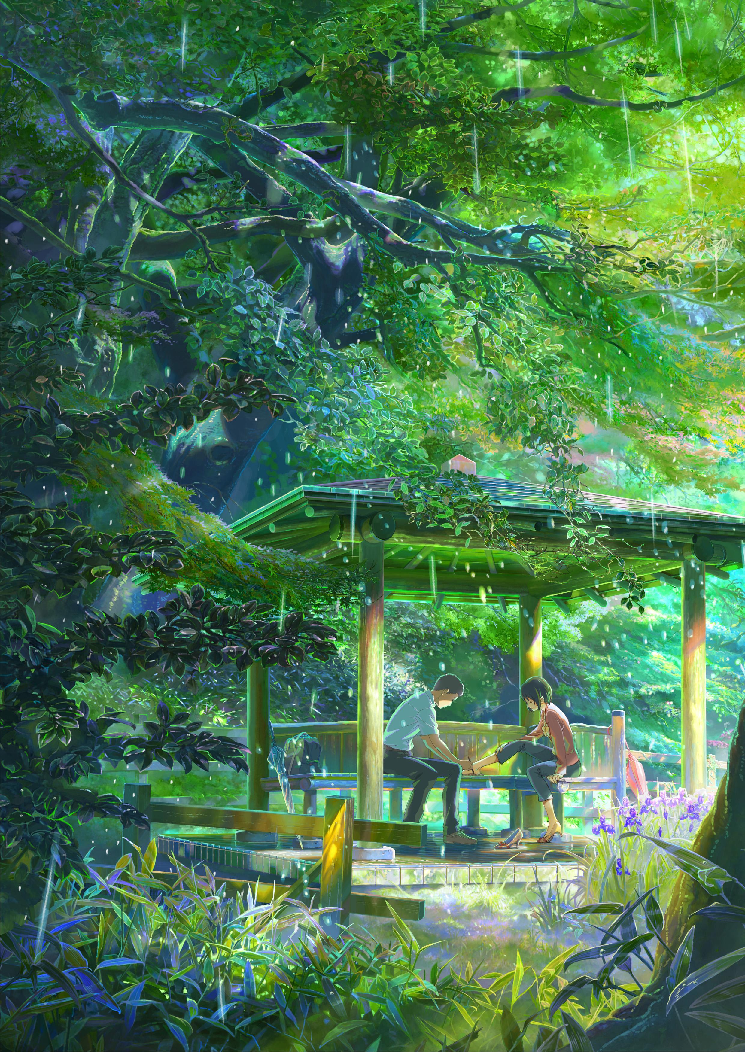 Kotonoha No Niwa Wallpapers Wallpaper Cave