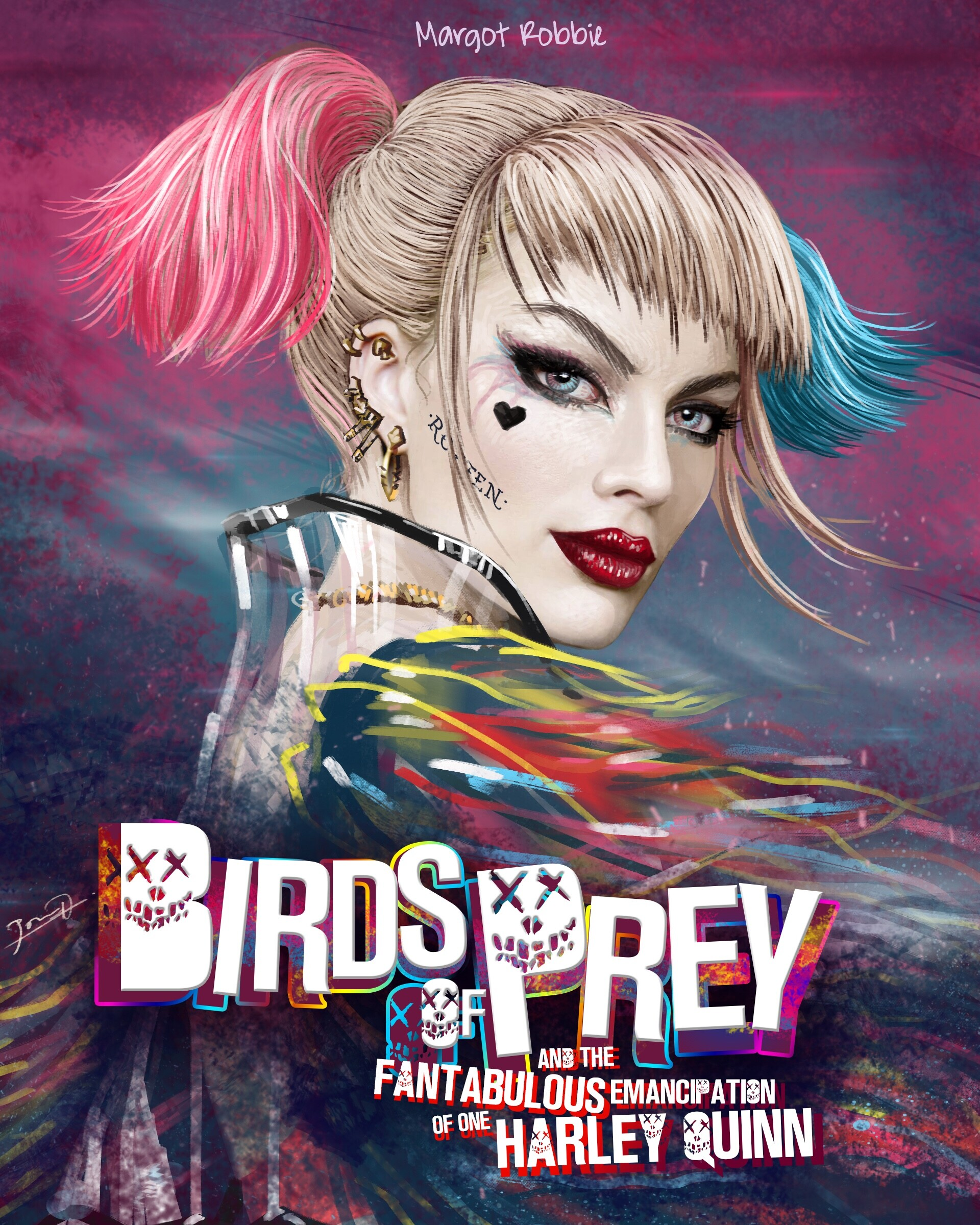 Birds Of Prey Movie Harley Quinn Wallpapers Wallpaper Cave