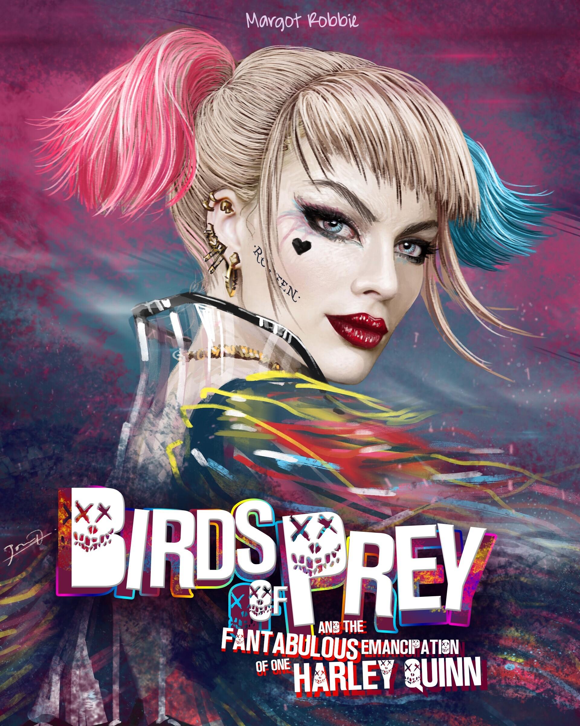 Birds Of Prey Movie Harley Quinn Wallpapers Wallpaper Cave