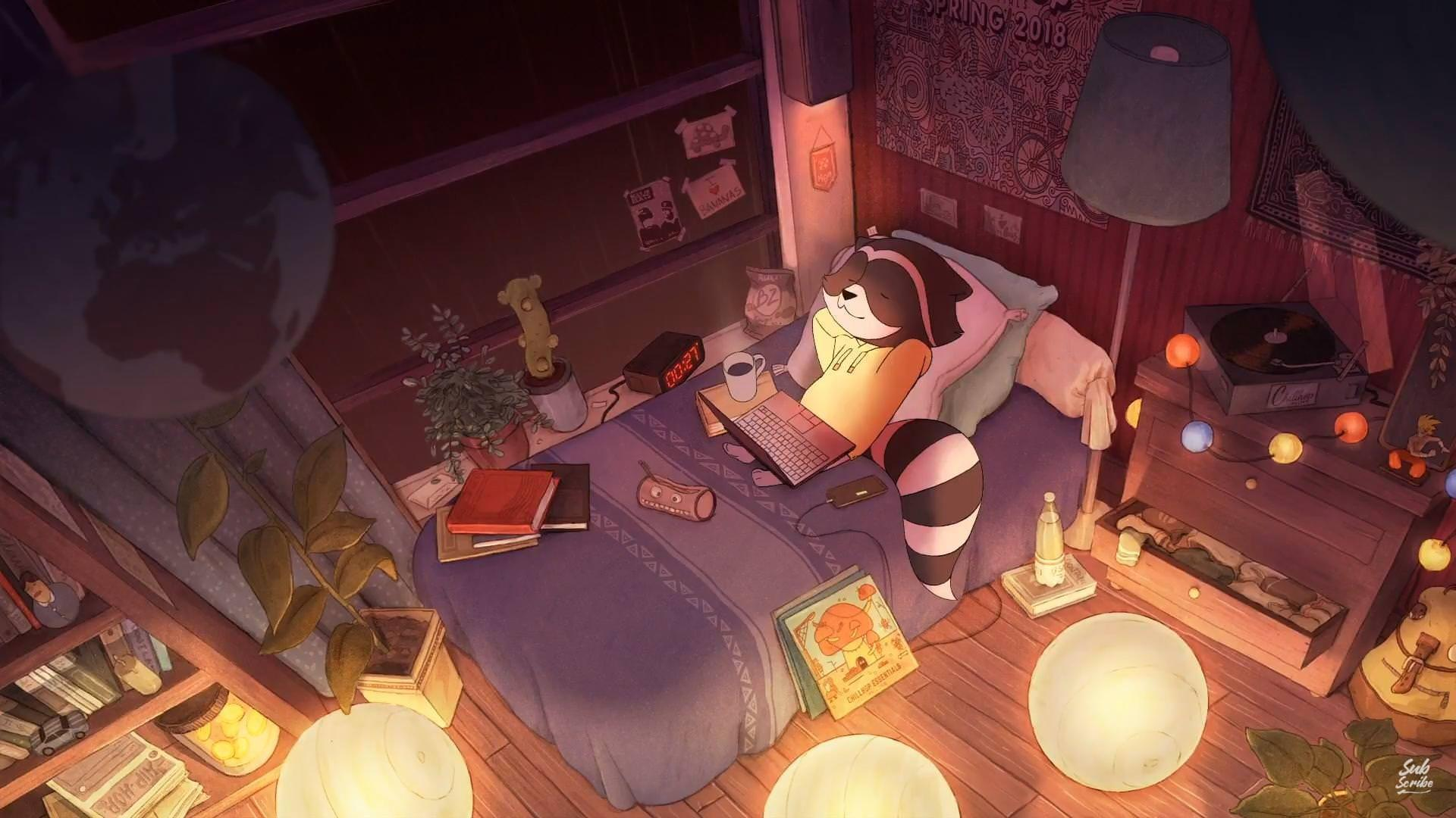 Anime Lo Fi Wallpapers - Wallpaper Cave