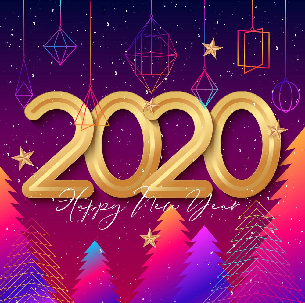 Happy New Year 2020 Wallpapers Wallpaper Cave