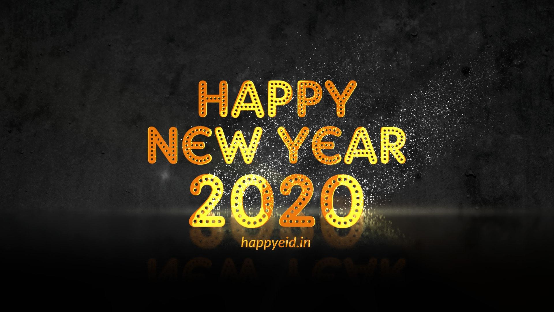 Happy New Year 2020 GIF Image, Wishes & Greetings