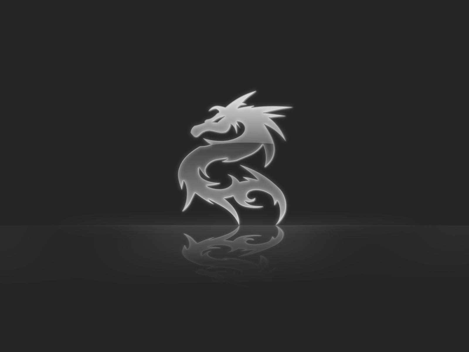 Dragon Black And White Wallpapers Wallpaper Cave