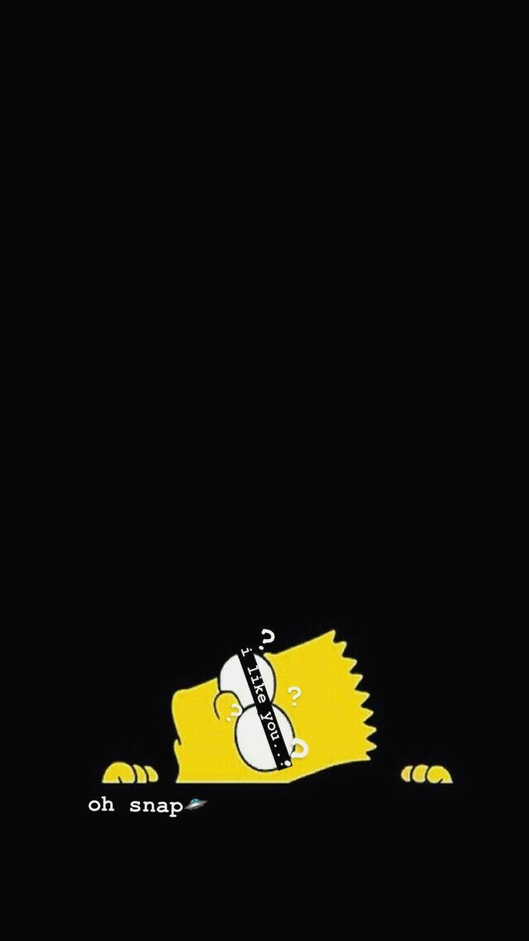 Simpson Wallpapers Iphone Sad Wallpapers Black Wallpapers