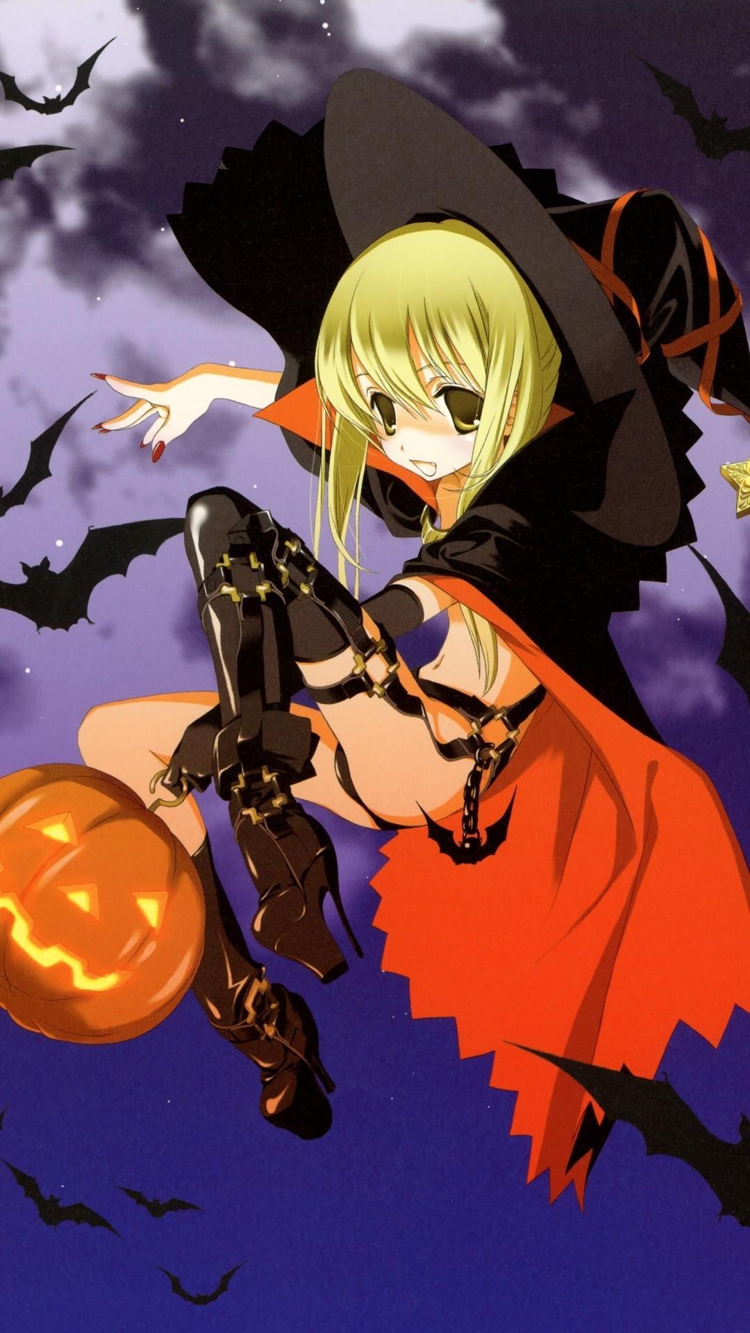 Anime Halloween HD Phone Wallpapers - Wallpaper Cave