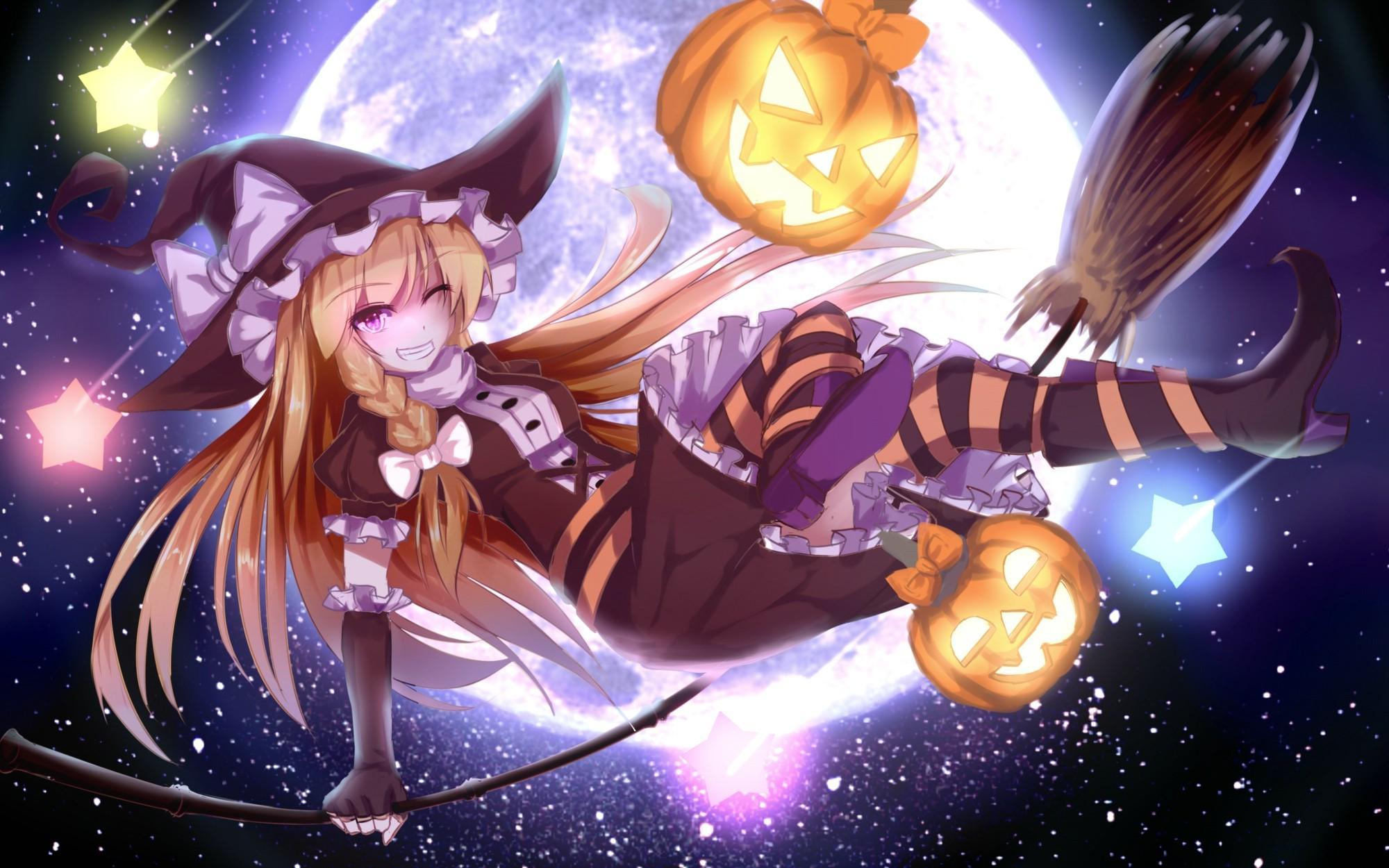 Manga Halloween Wallpapers Wallpaper Cave