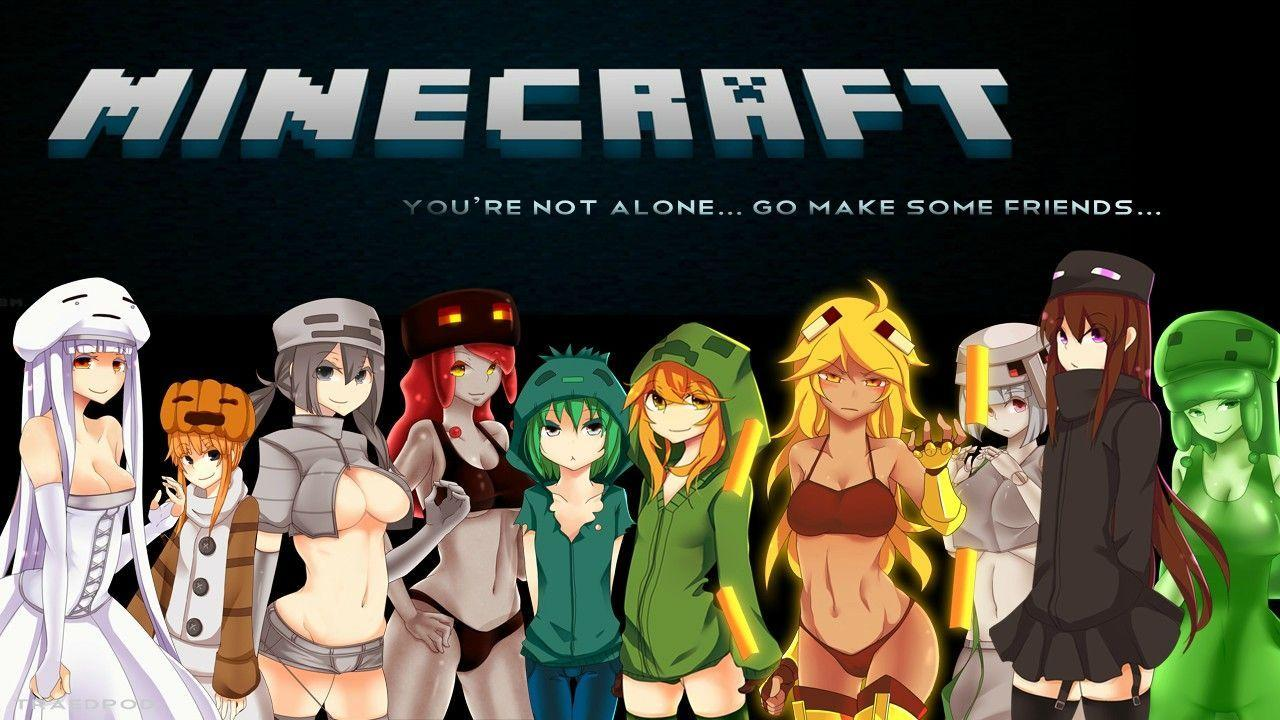 Minecraft Anime Wallpapers - Wallpaper Cave