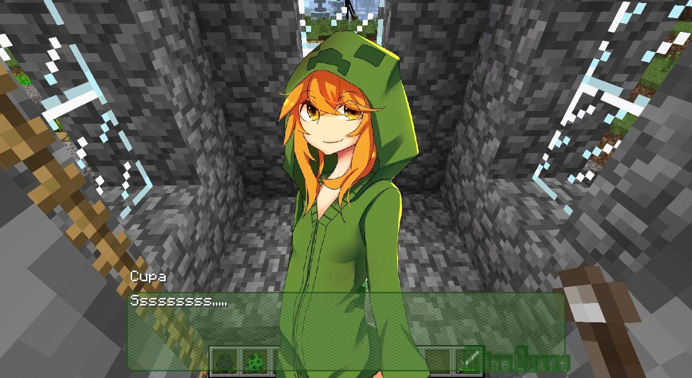 Minecraft Anime Wallpapers Wallpaper Cave