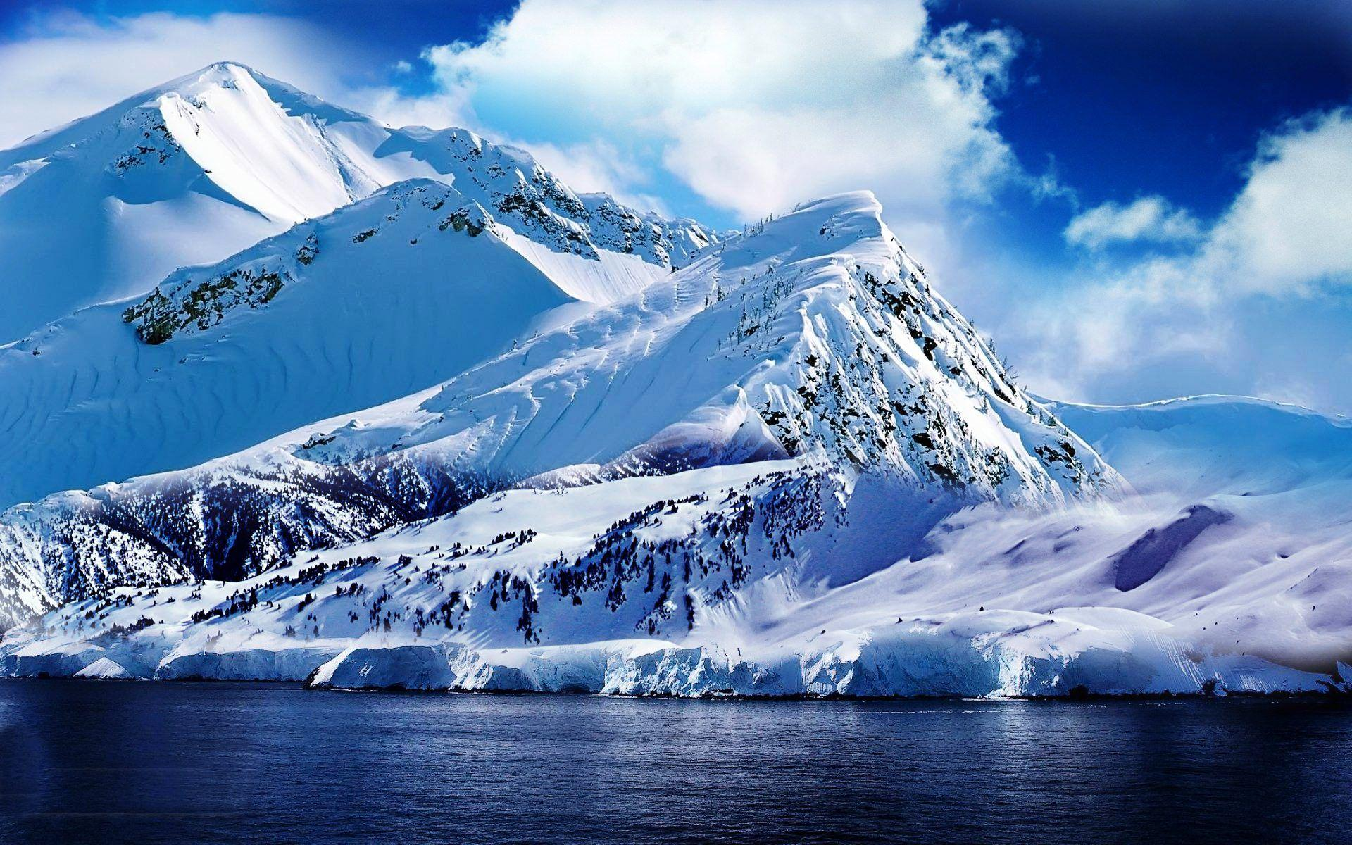 Ice Mountain Wallpapers Wallpaper Cave