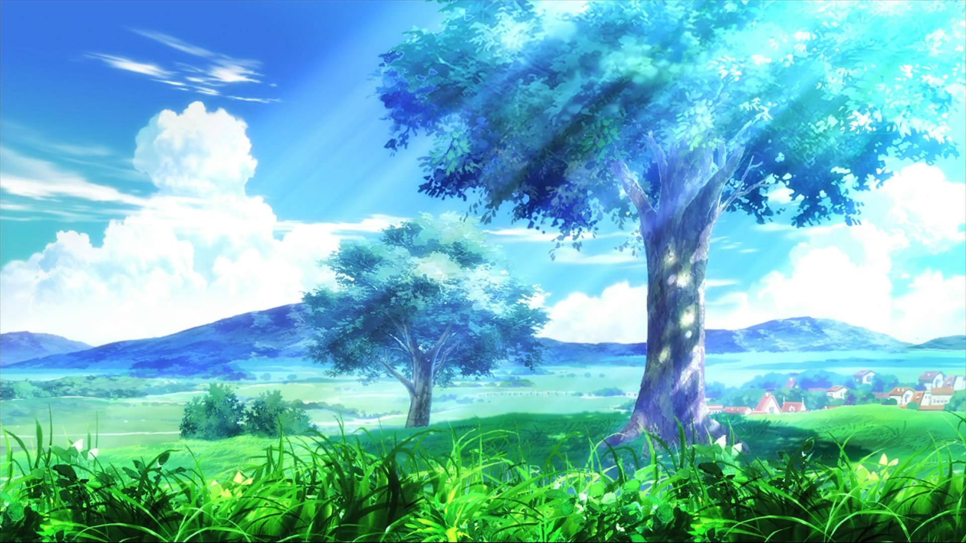 Nature Anime Wallpapers Wallpaper Cave